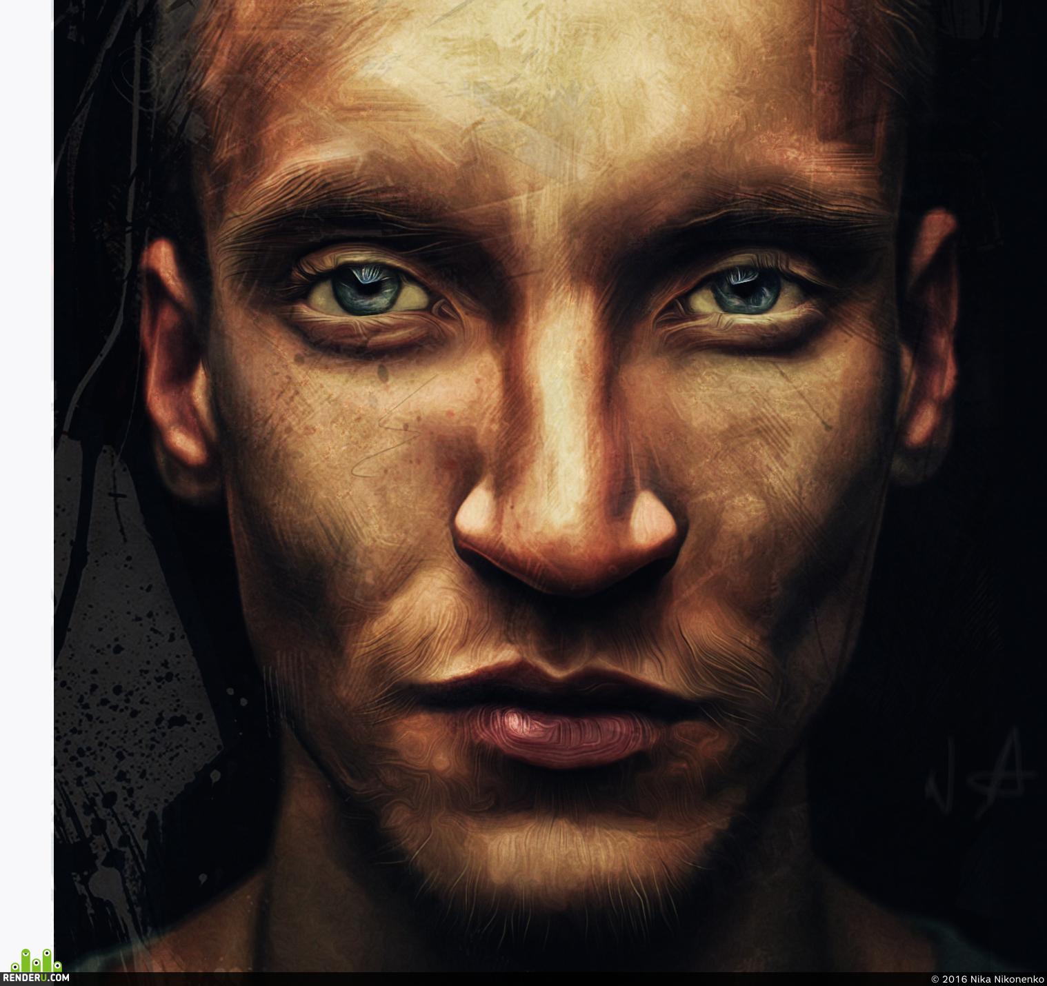 preview цифровой портрет