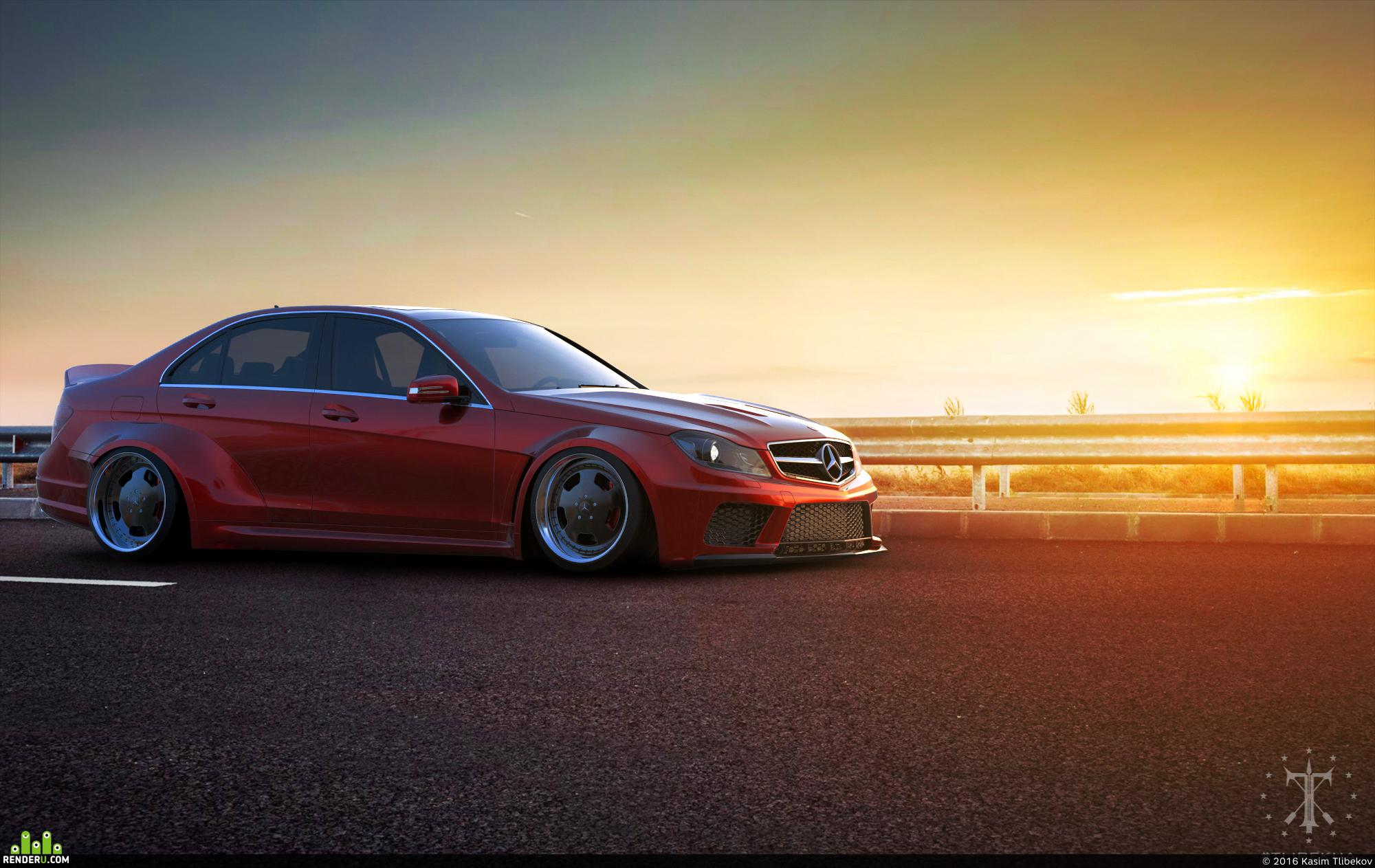 preview Mercedes-Benz C-Class Widebody