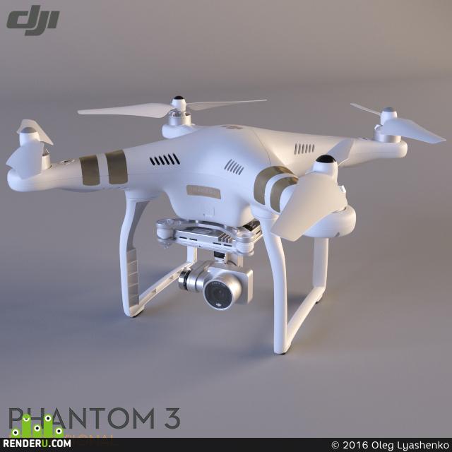 preview Квадрокоптер DJI Phantom 3 Professional