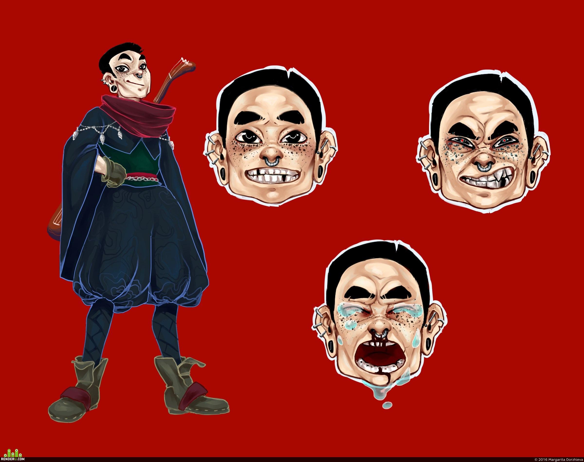 preview концепт персонажа
