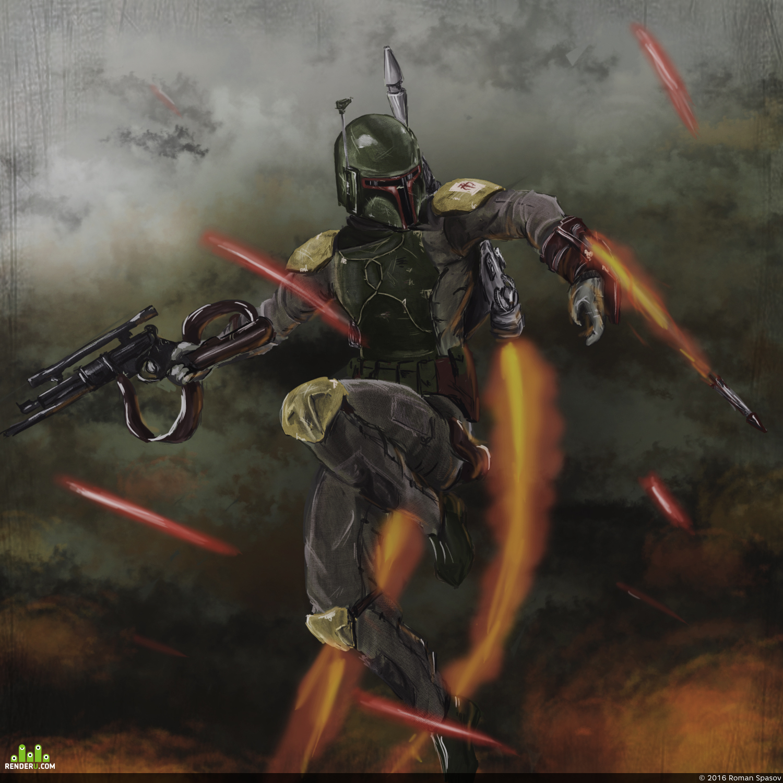 preview Boba Fett - Battle of Kashyyk