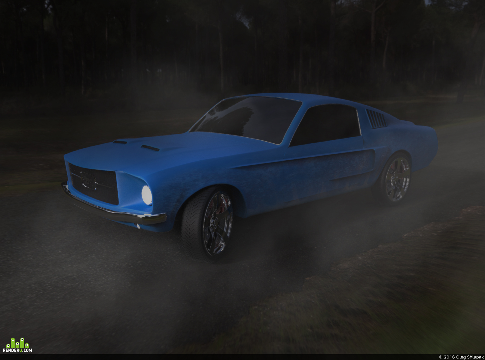preview Ford Mustang 1968