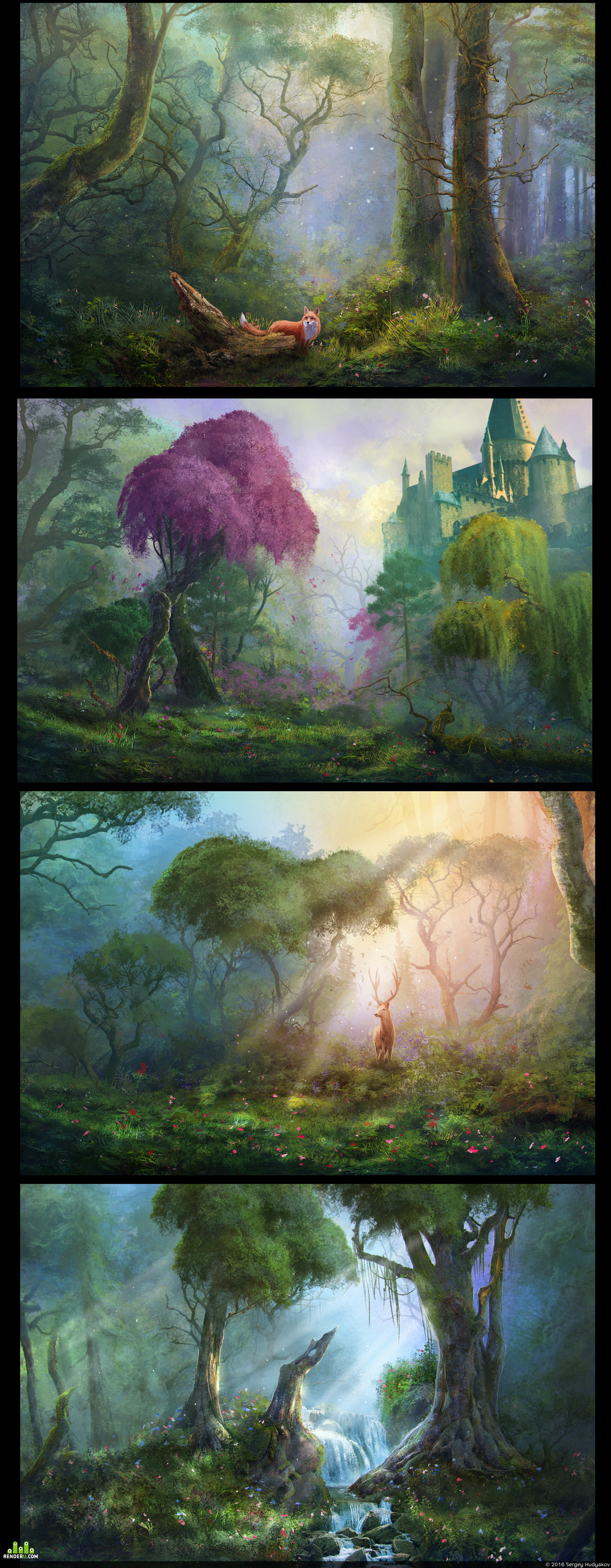 preview forest scenes