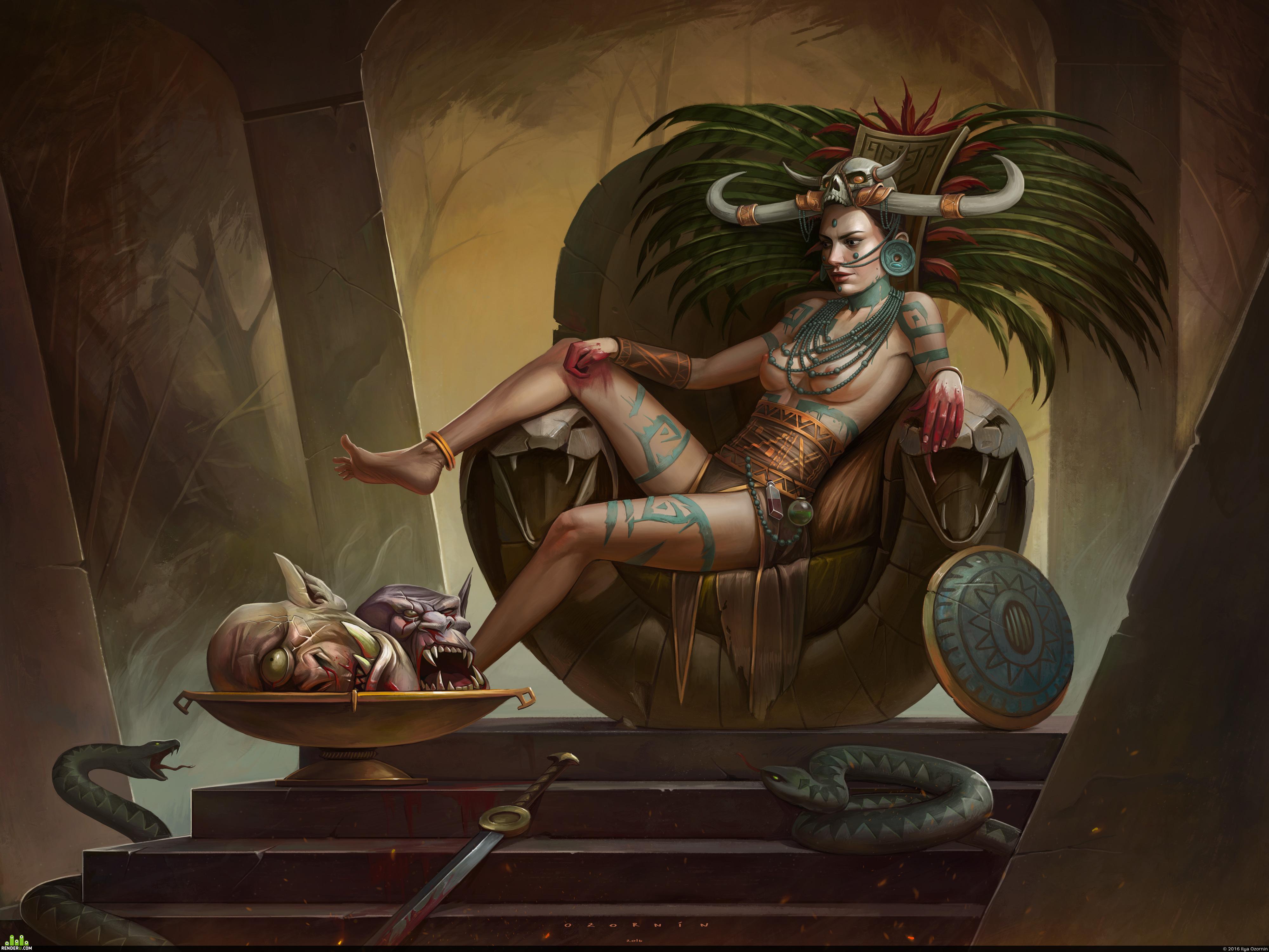preview Королева Чёрной Топи