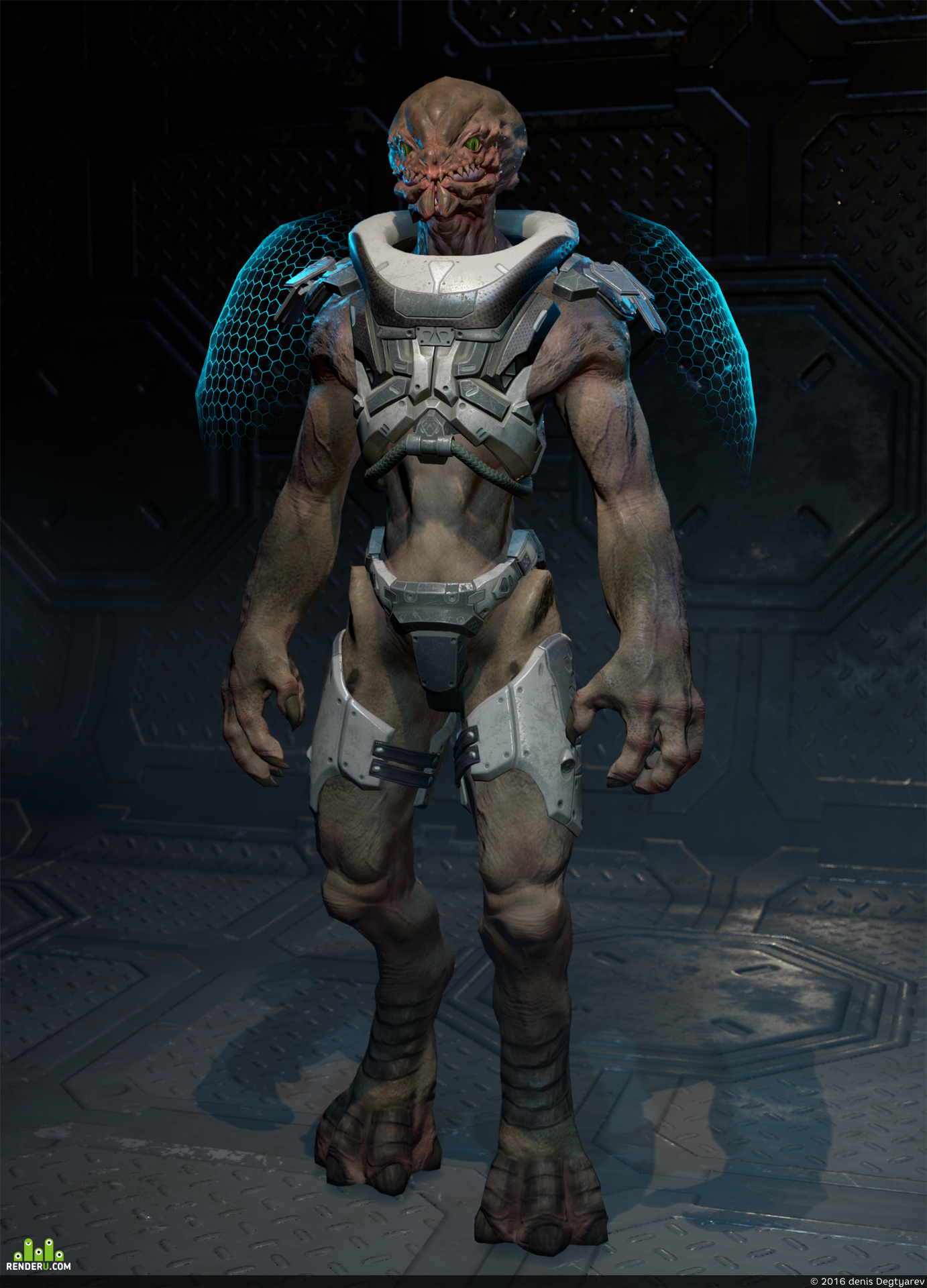 preview Alien Character