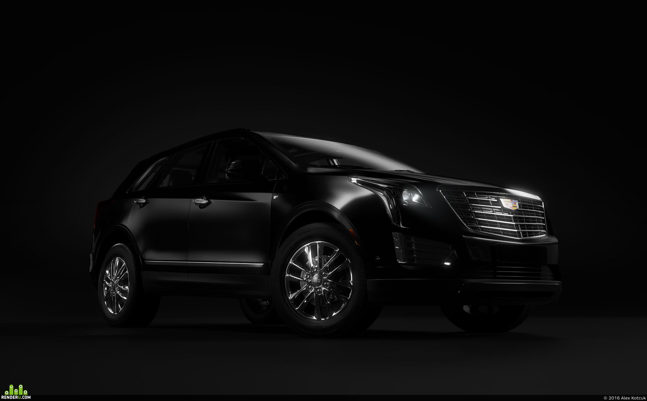 preview Cadillac XT5