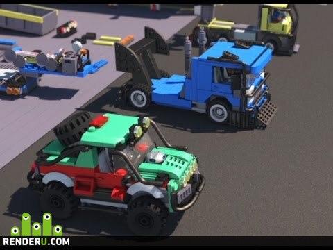 preview Лего мультфильм - гонка супер каров