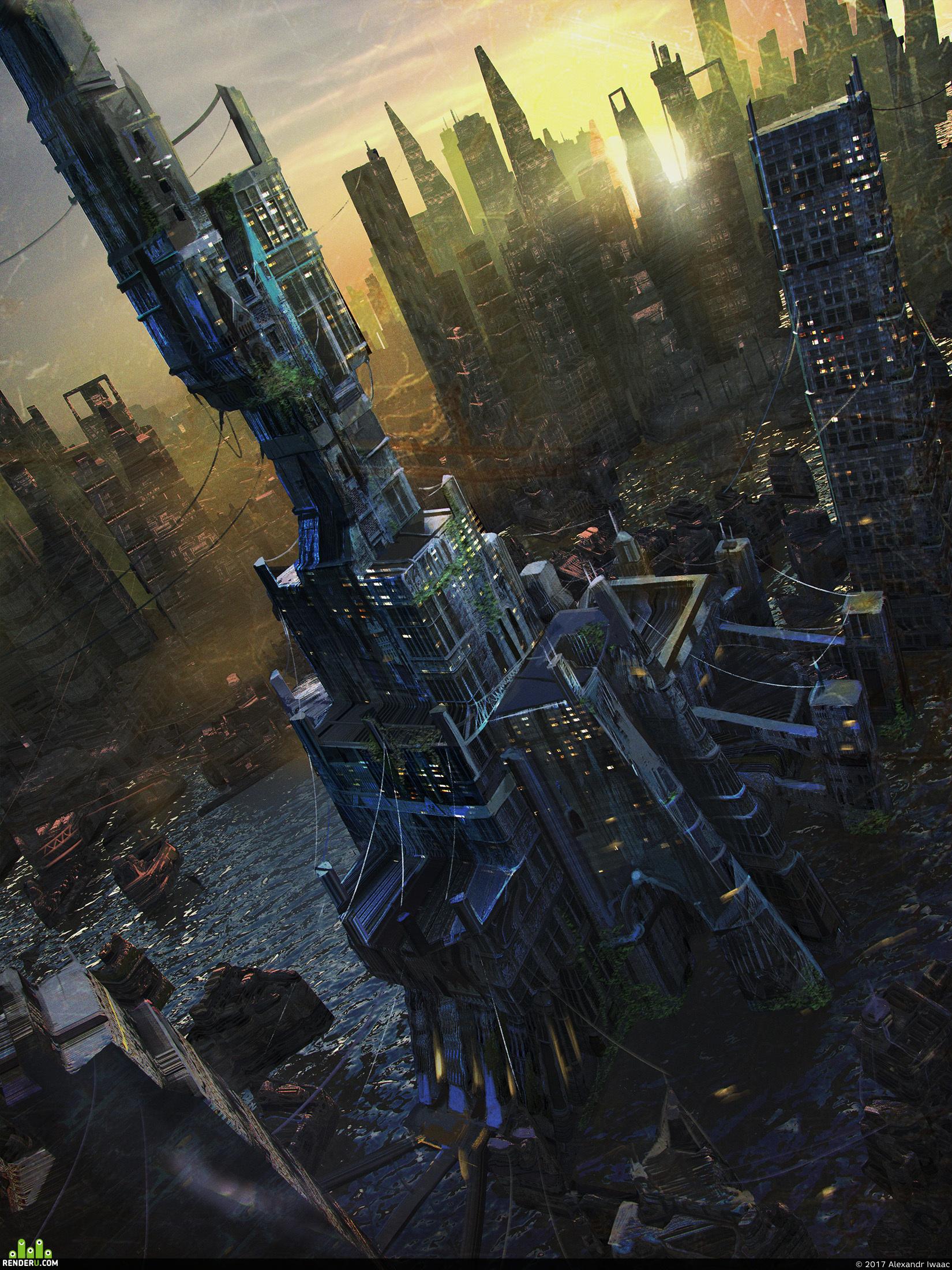 preview Город людей. Главная башня.