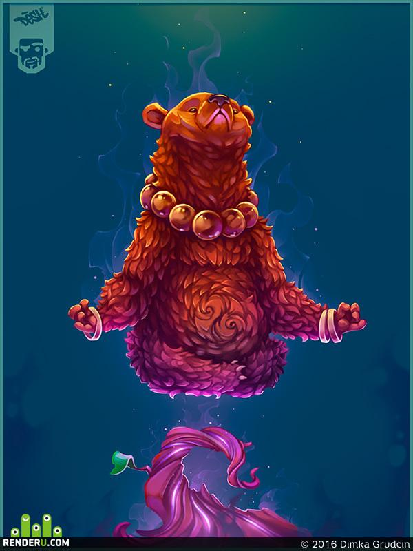 preview Zen bear