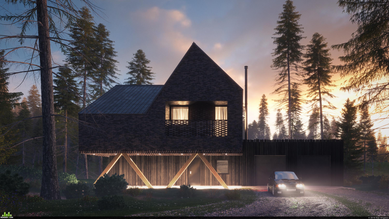 preview Скандинавский дом