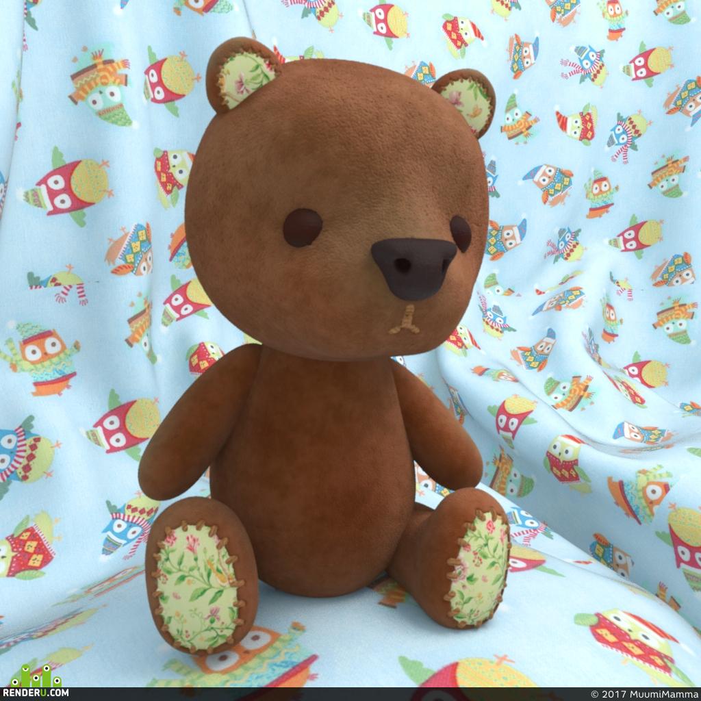 preview Плюшевый медведь