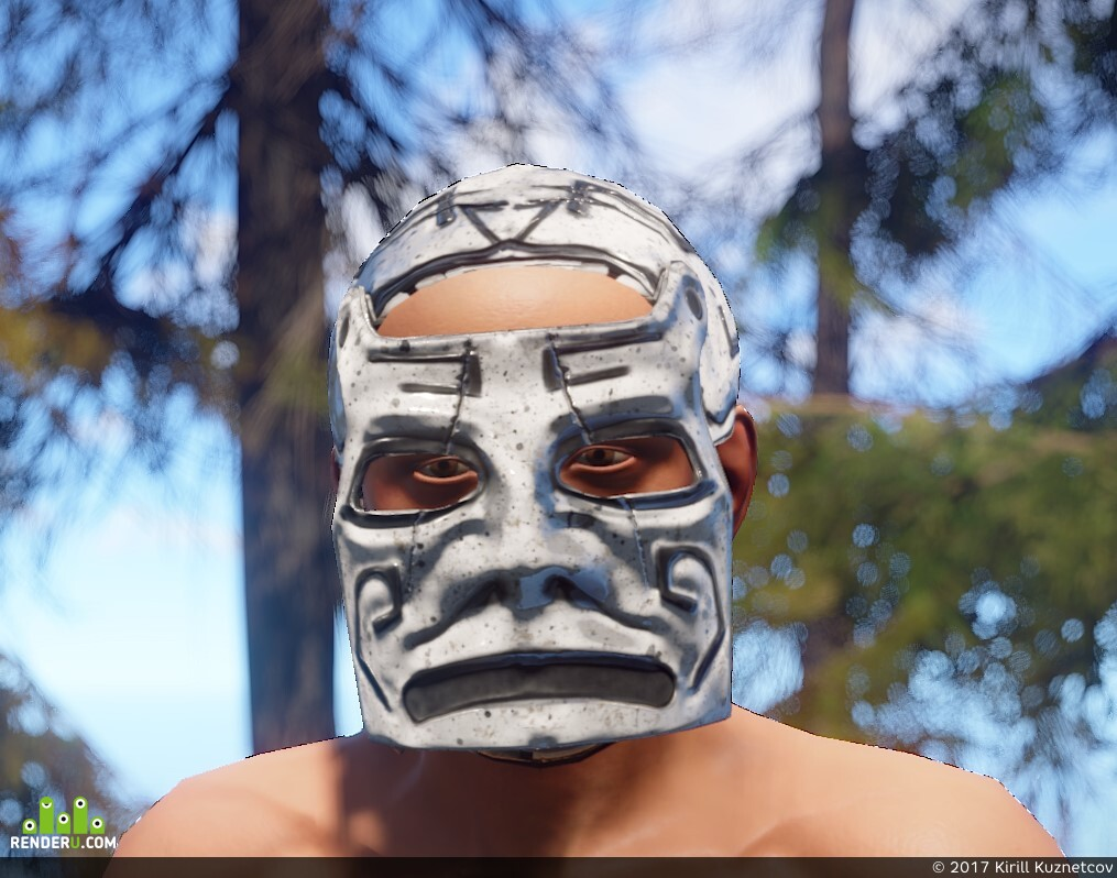 preview Ancient Metal Facemask