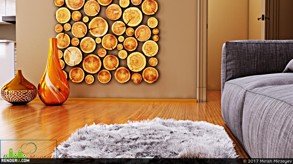 preview Дизайн гостиной комнаты