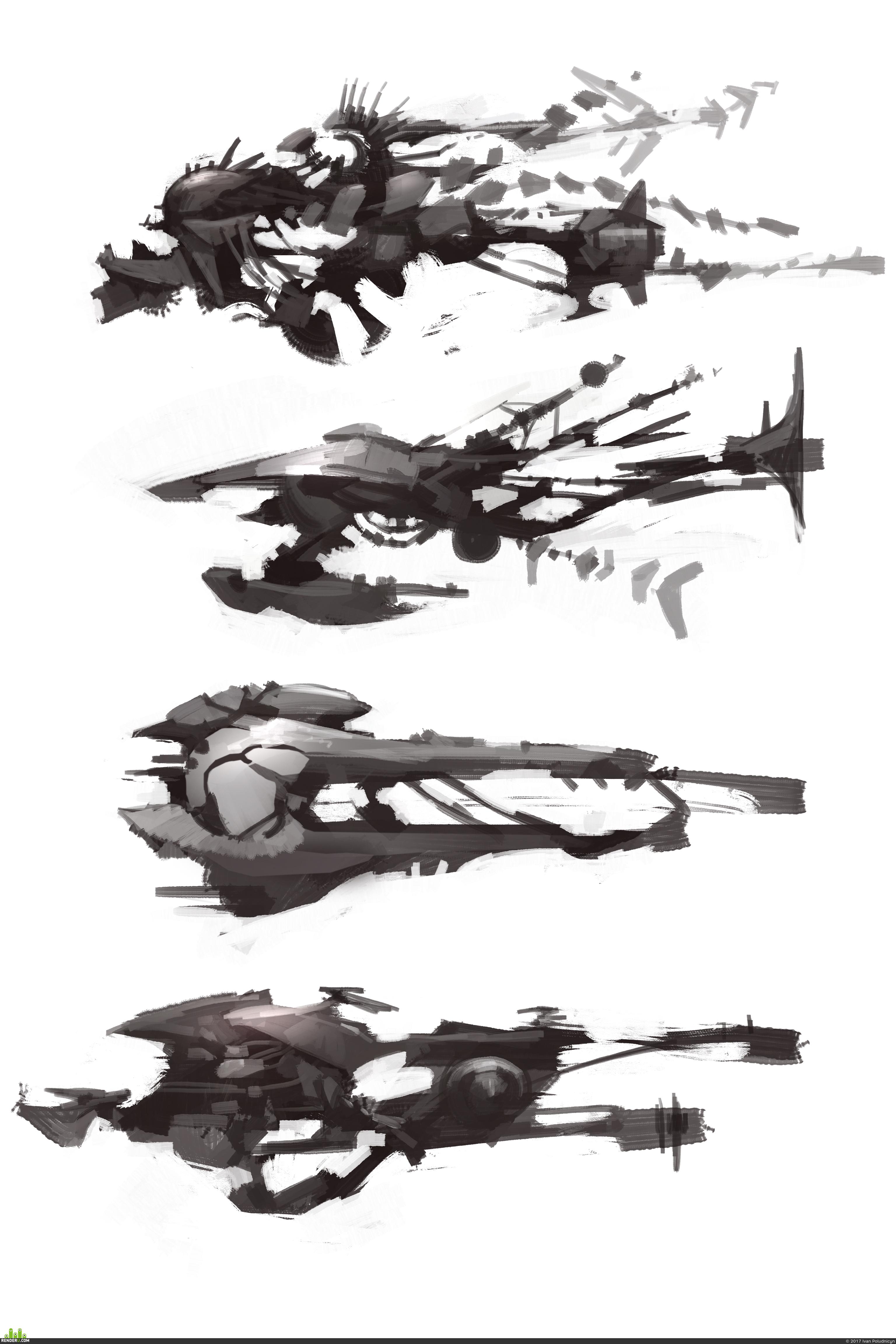 preview Дизайн. Космические корабли.