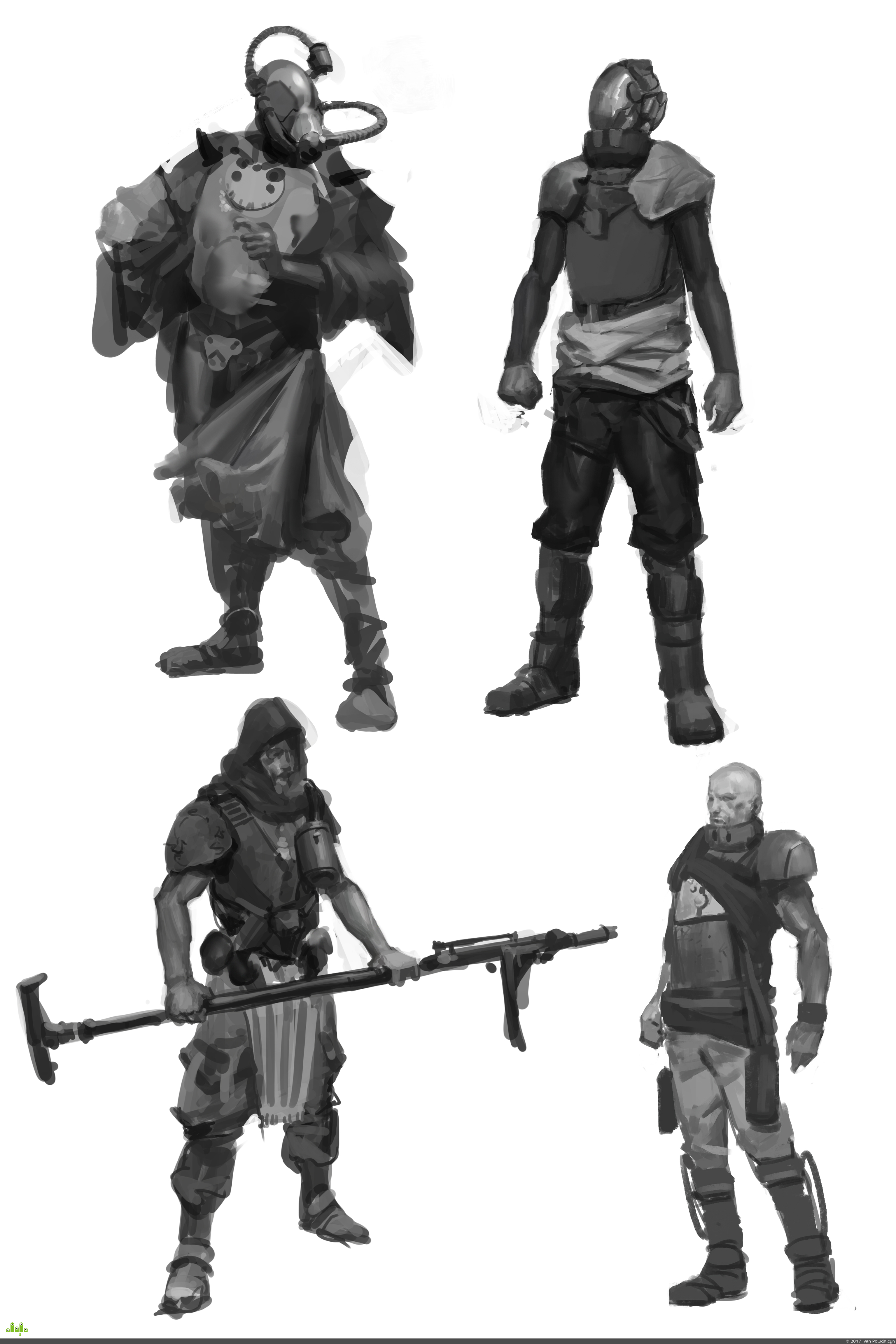 preview Дизайн персонажей.