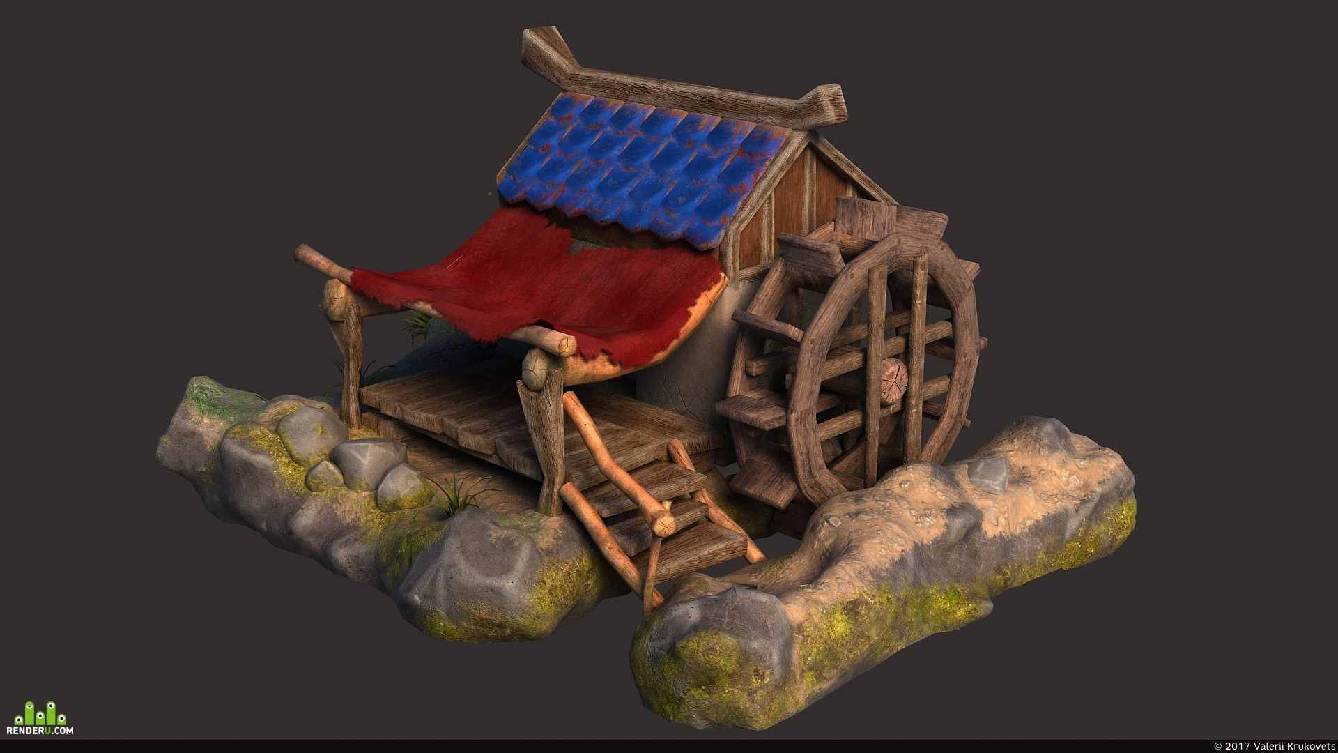 preview Lowpoly дом