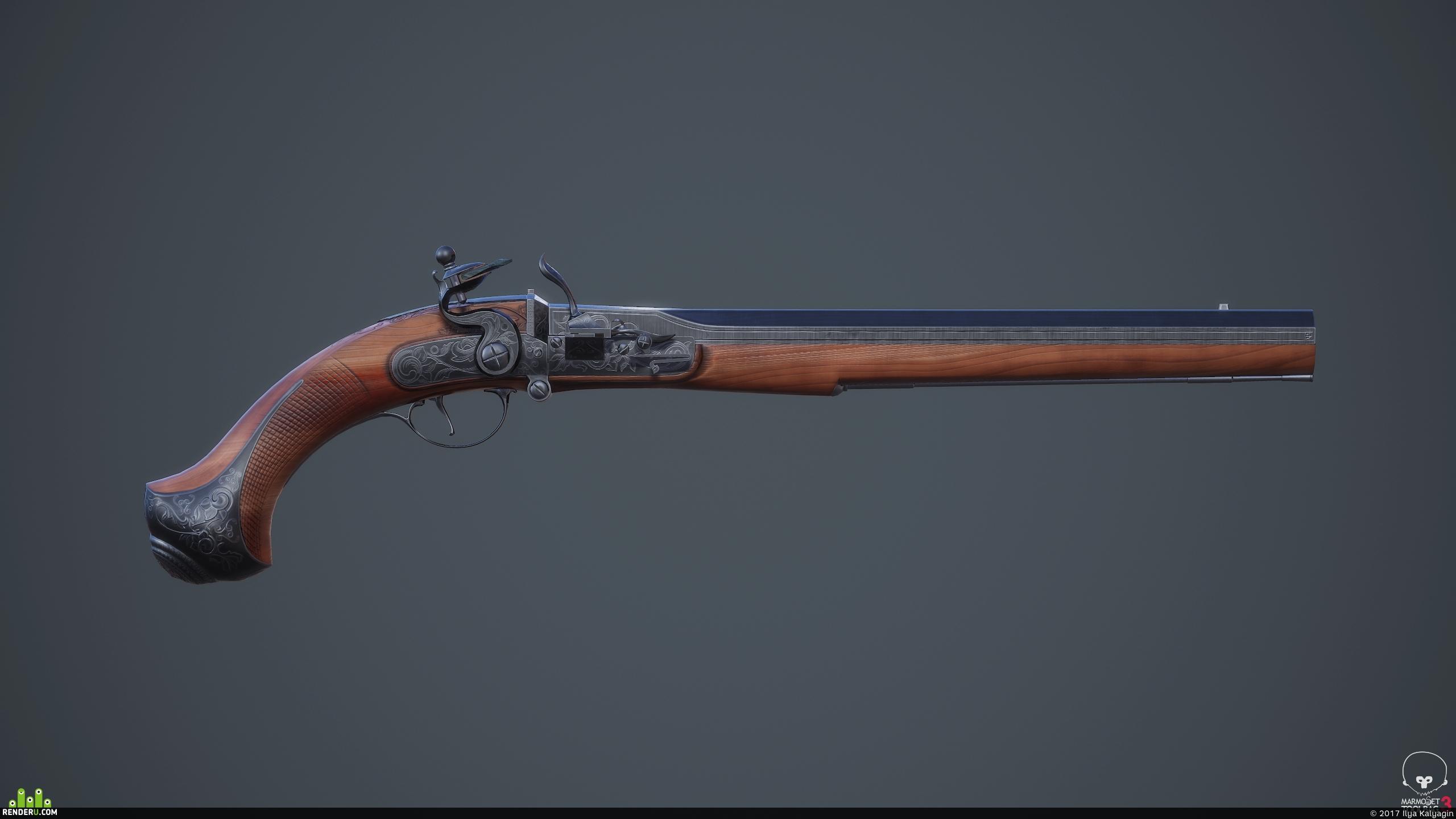 preview Пиратский пистолет