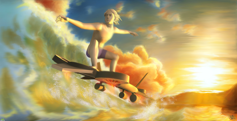 preview Реактивный серфинг