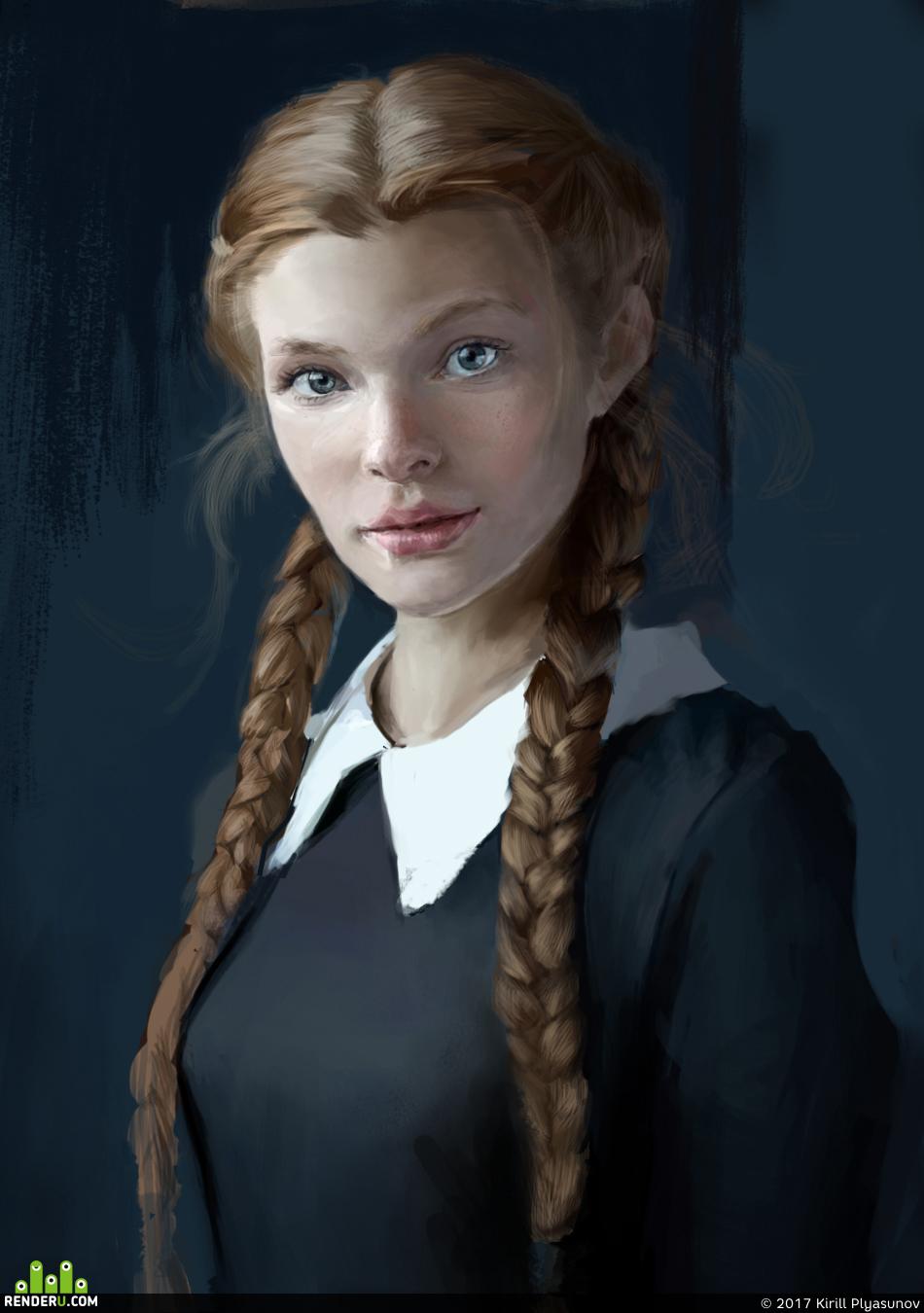 preview Портрет девушки