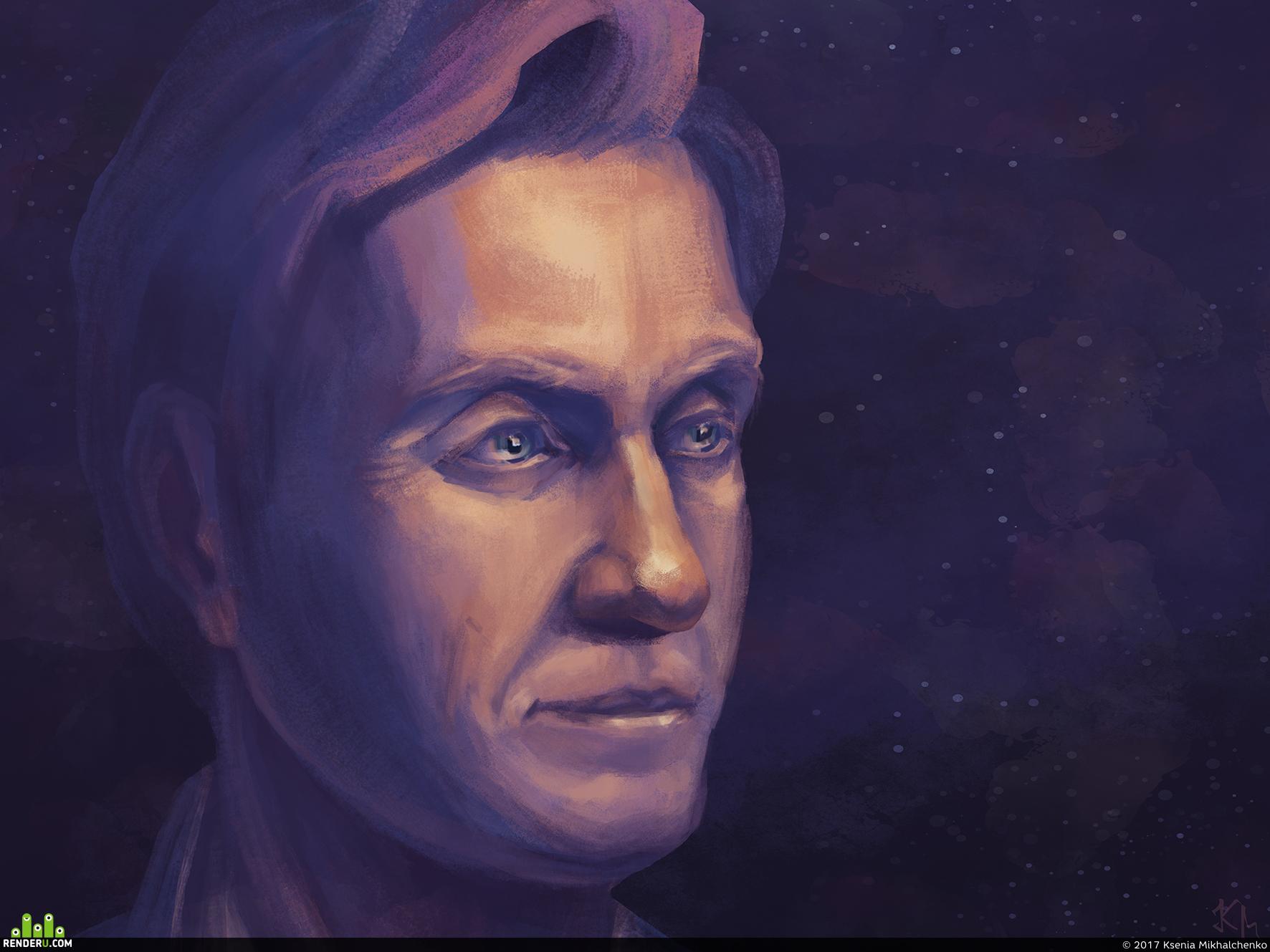 preview Космический портрет отца