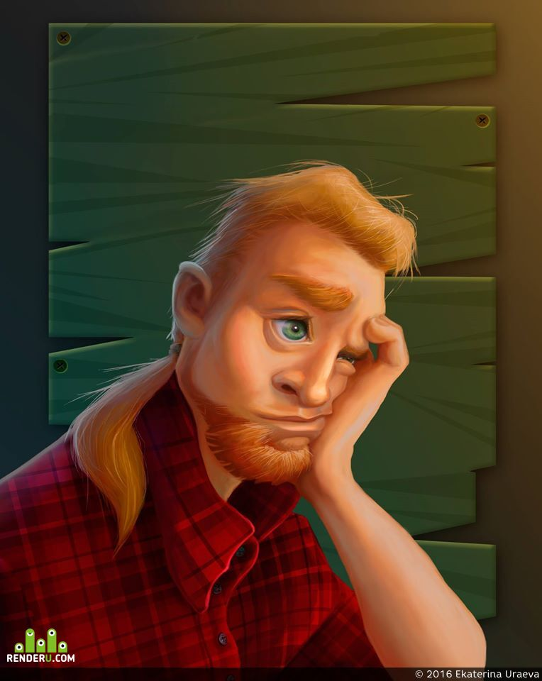 preview Стилизация портрета