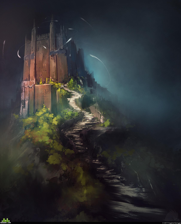 preview Замок на горе