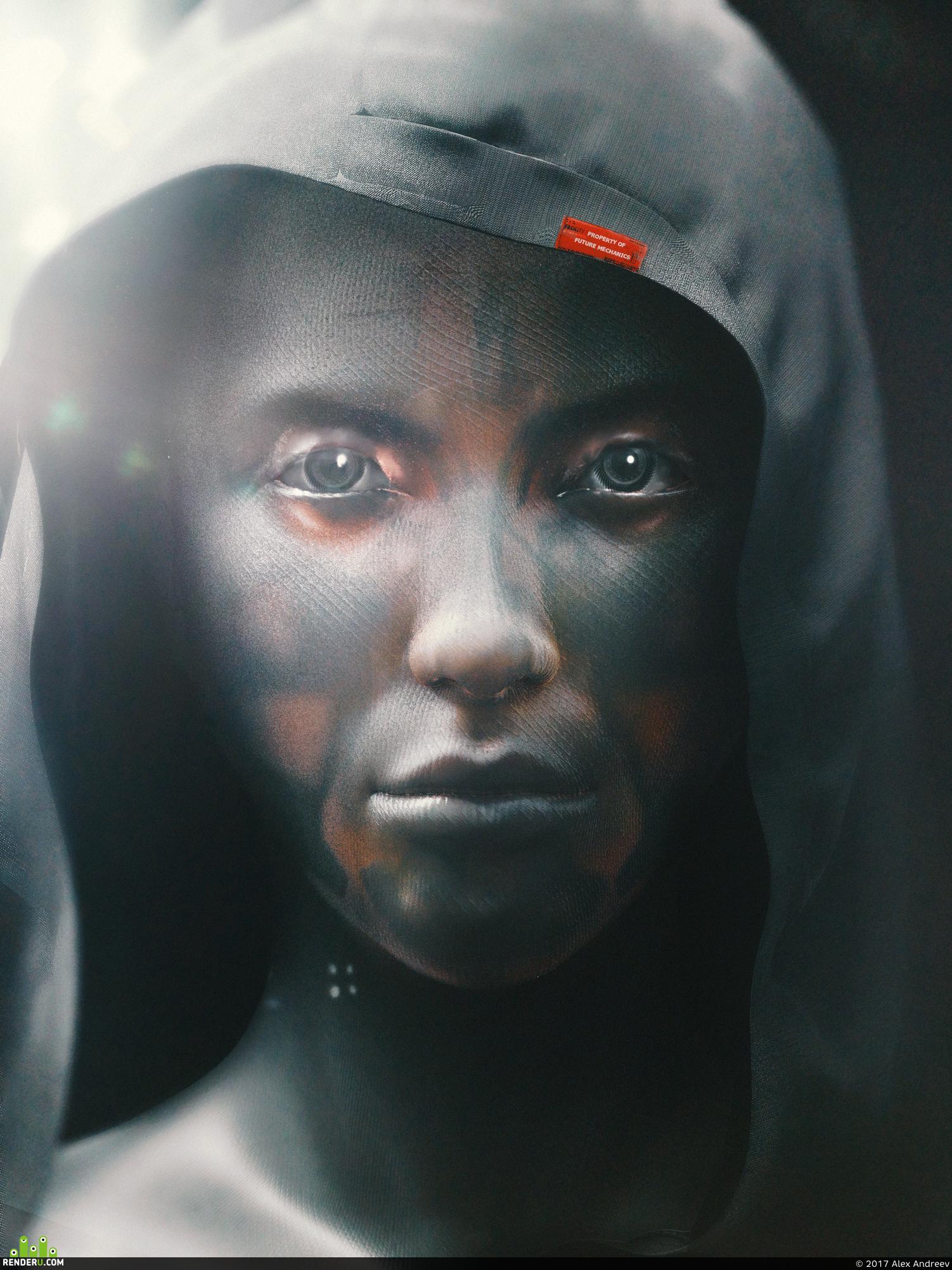 preview Cyborg Portrait