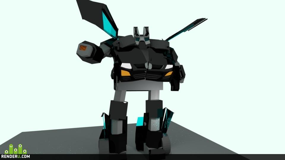preview Мазда cx-7 (робот)