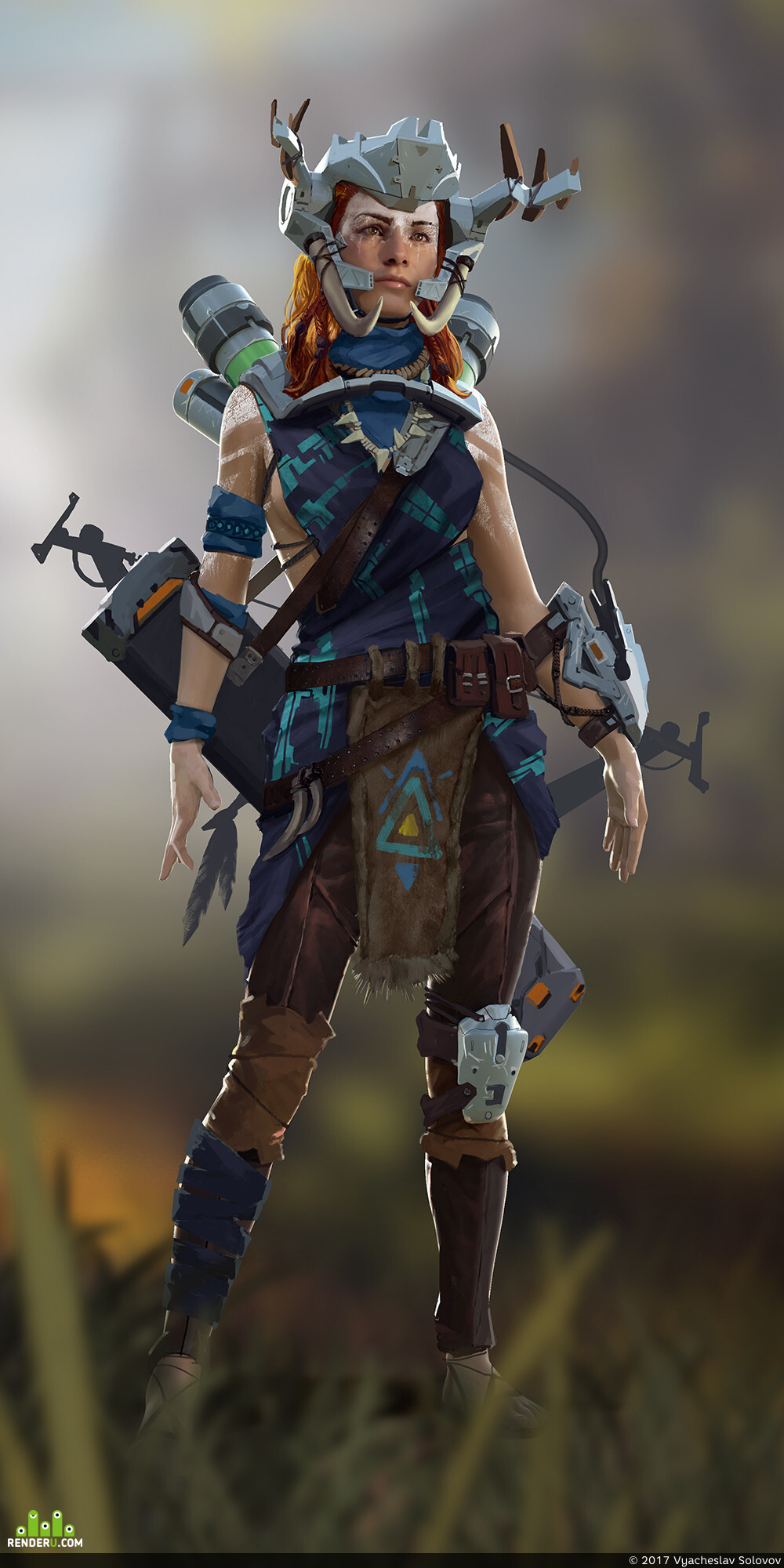 preview Aloy, Banuk Noble outfit