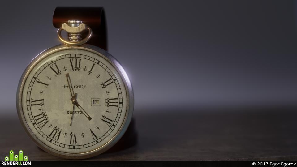 preview Потёртые Карманные Часы