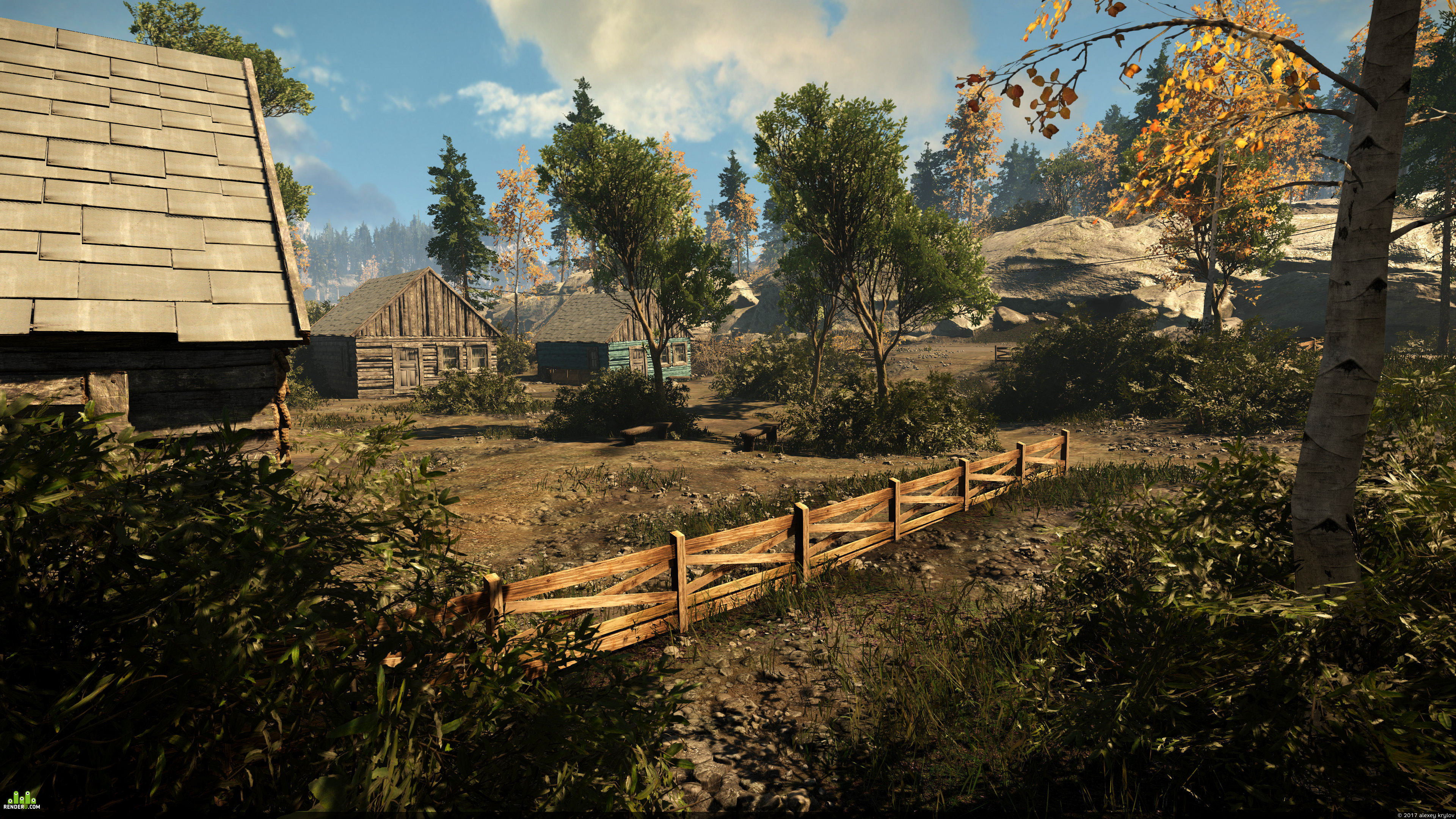 preview CryEngine V | LevelDesign | WESTERN CANYON