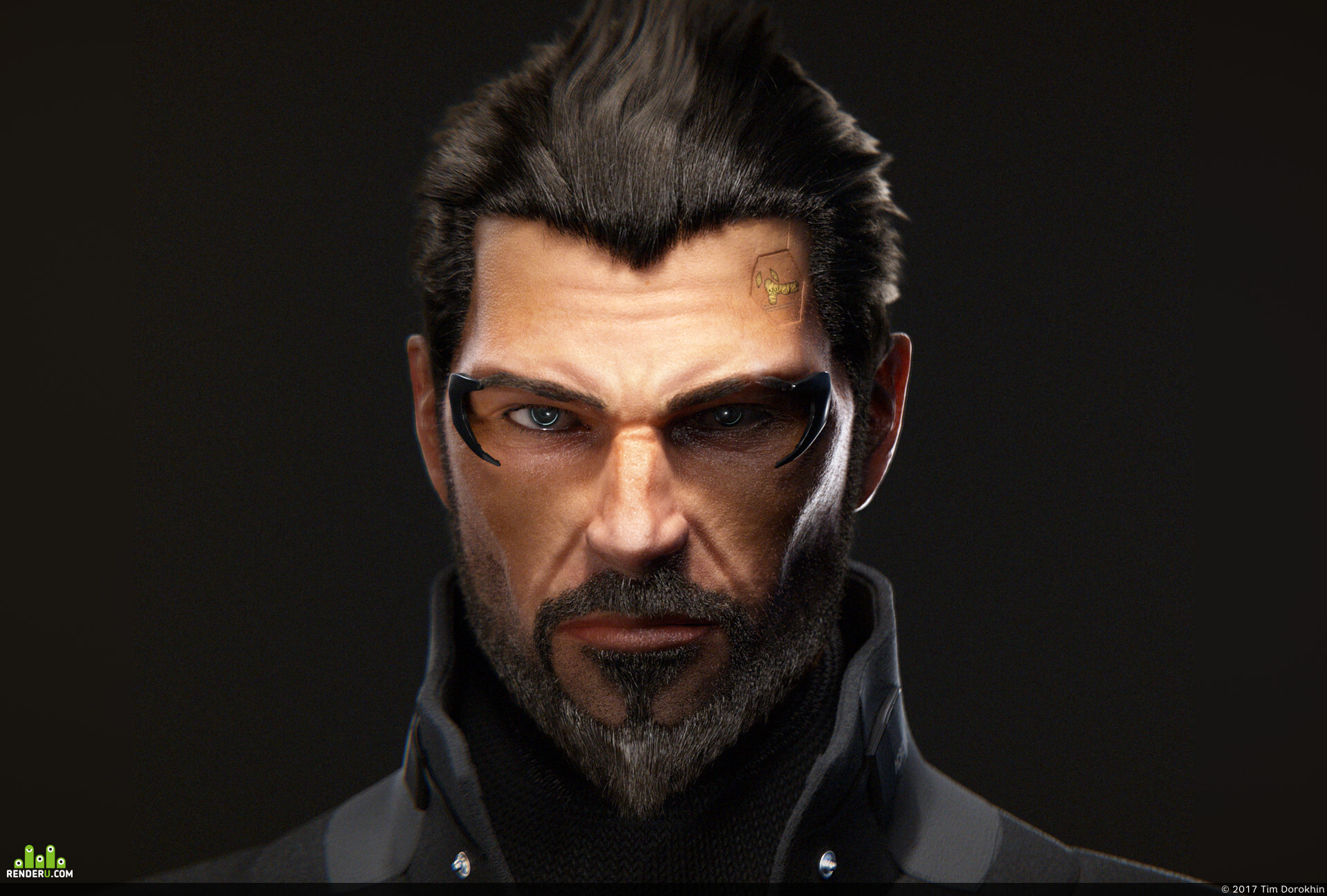 preview Адам Дженсен (Deus Ex fanart)