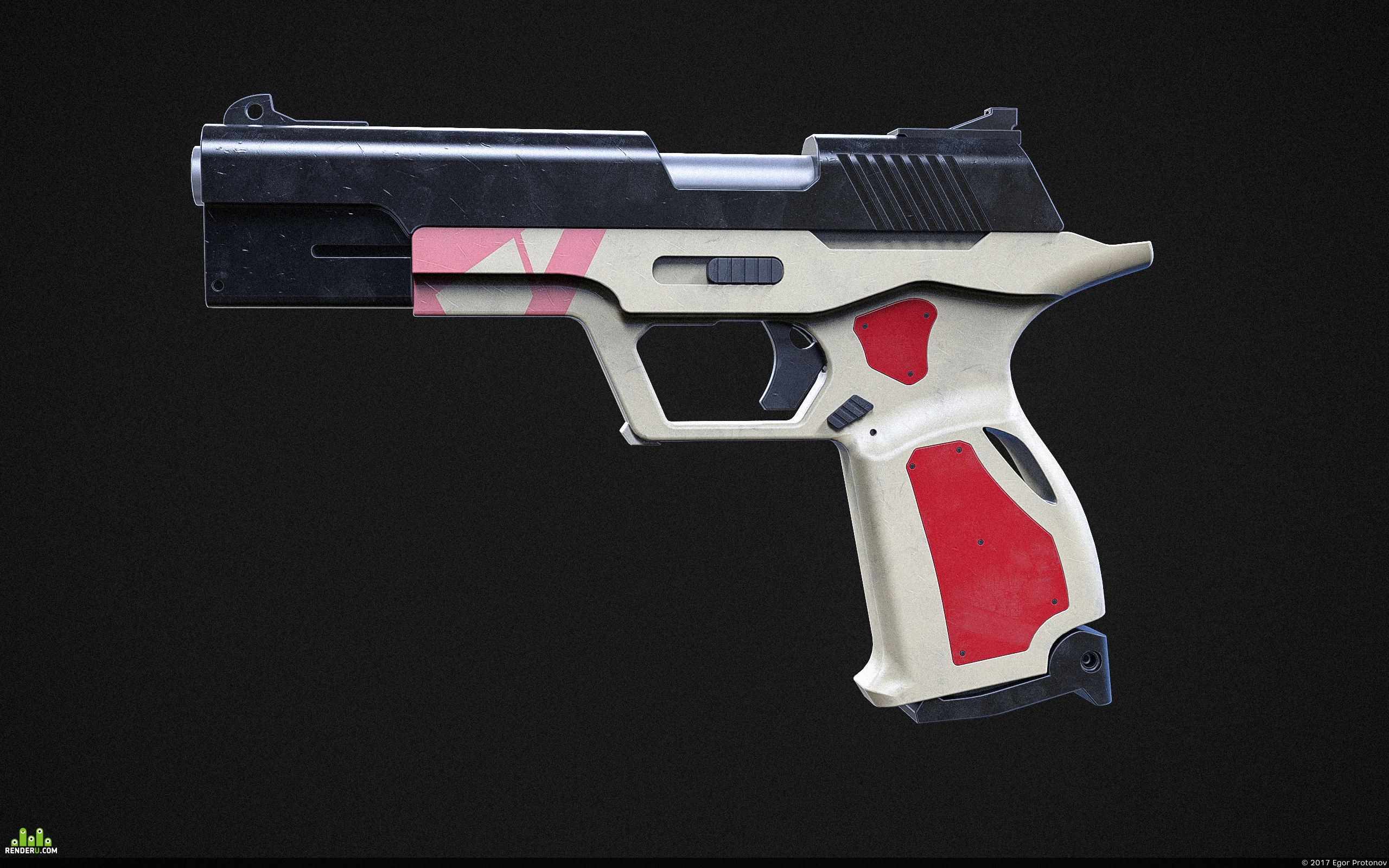 preview Pistol concept