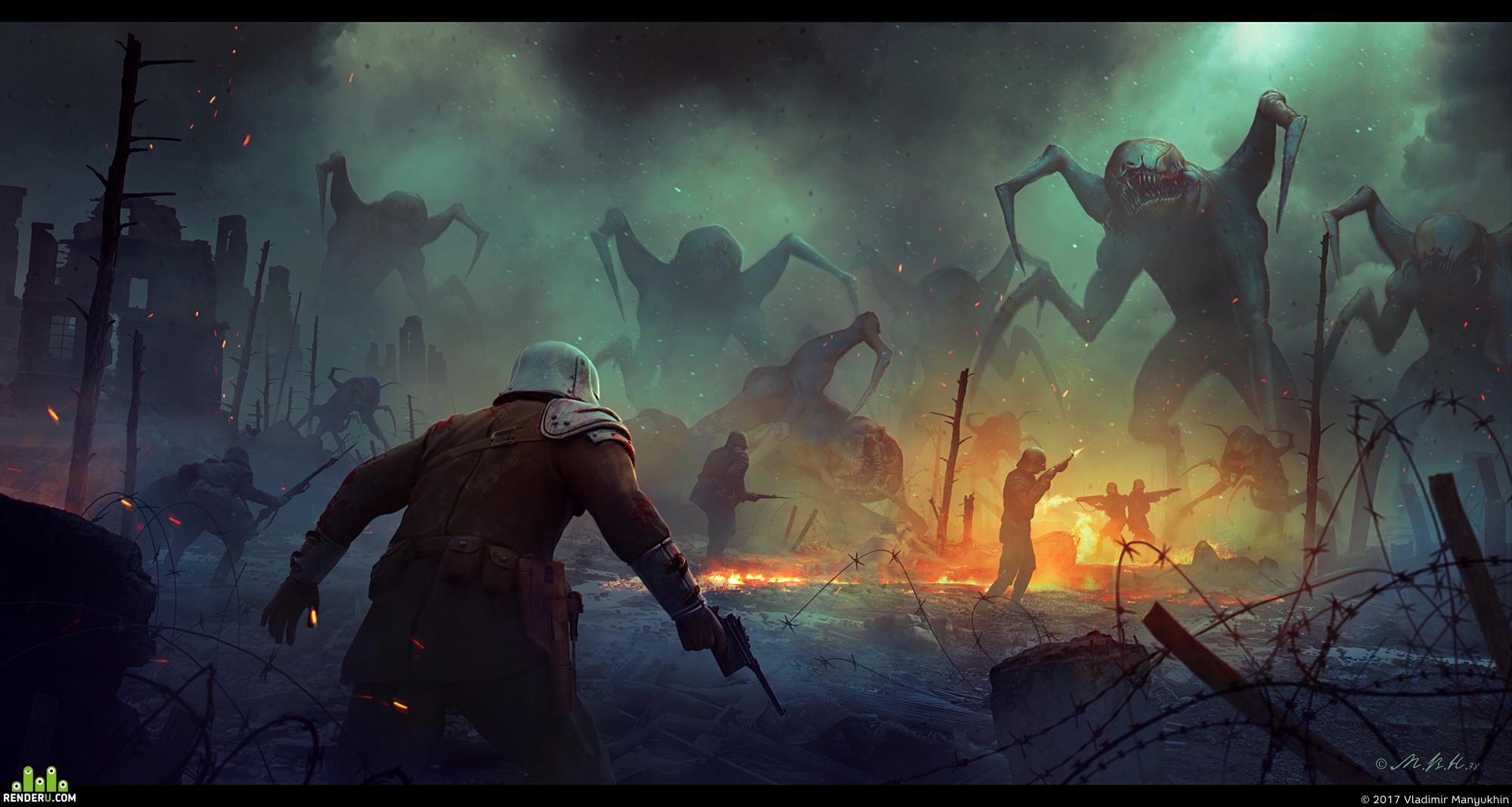 Иллюстрации Владимира Манюхина (продолжение)