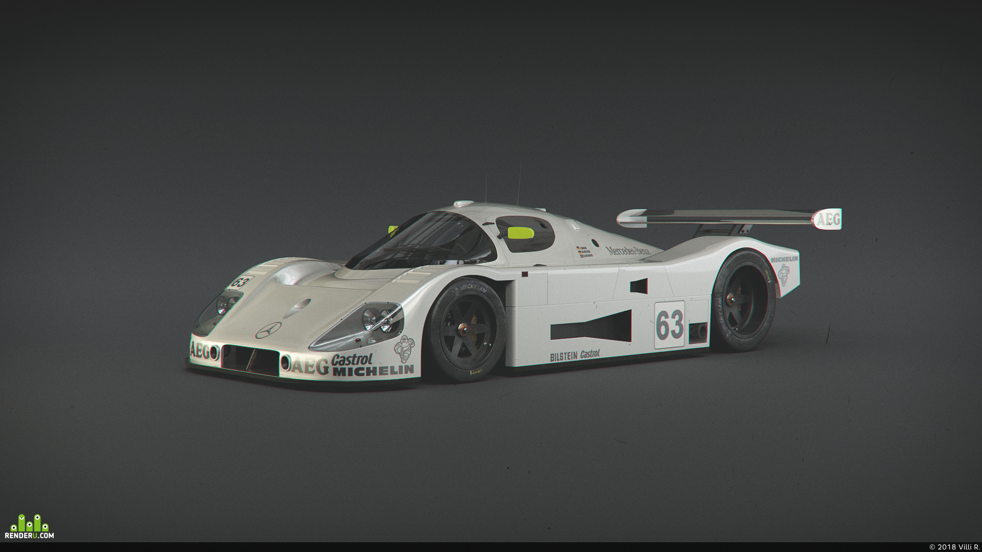 preview Mercedes-Benz Sauber C9
