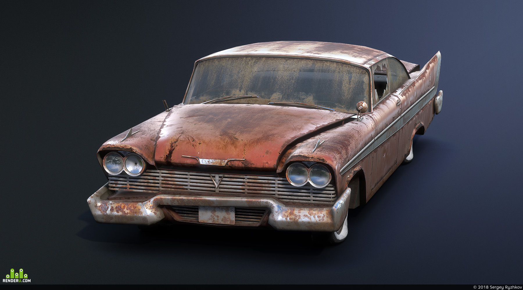 preview Plymouth Fury 1958