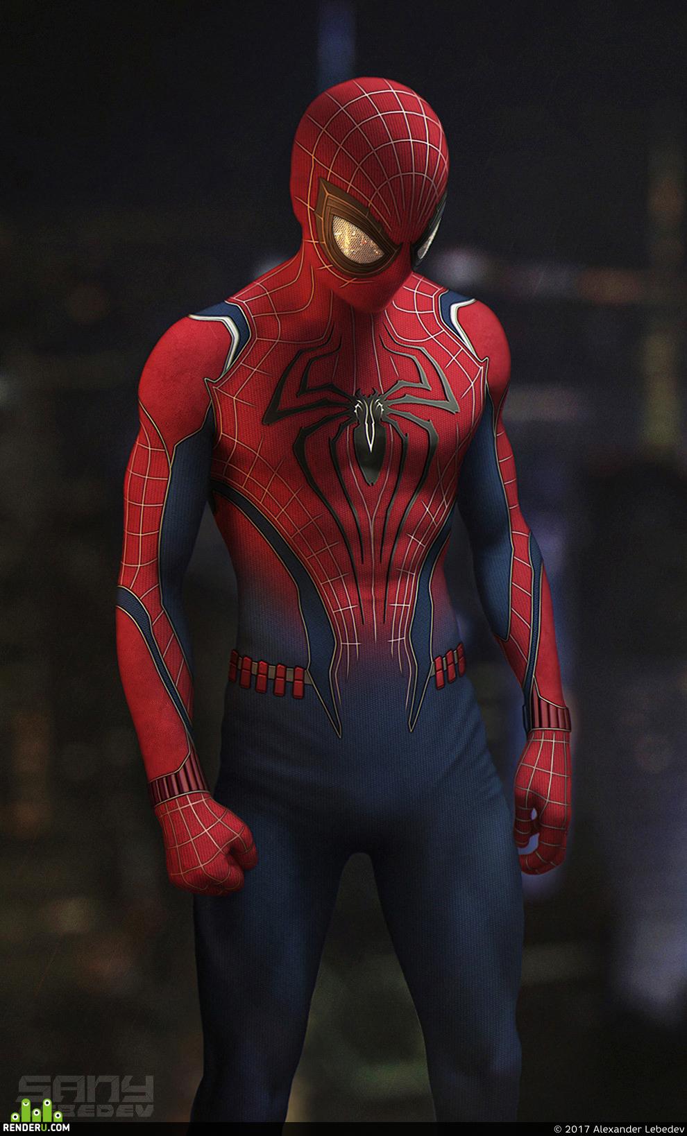 арты костюма человека паука достопримечательности