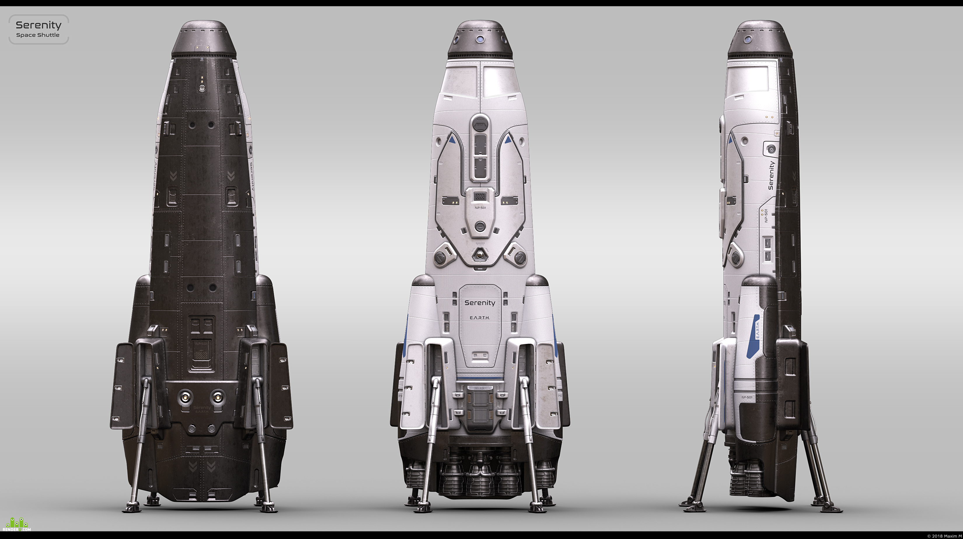 preview Serenity Space Shuttle