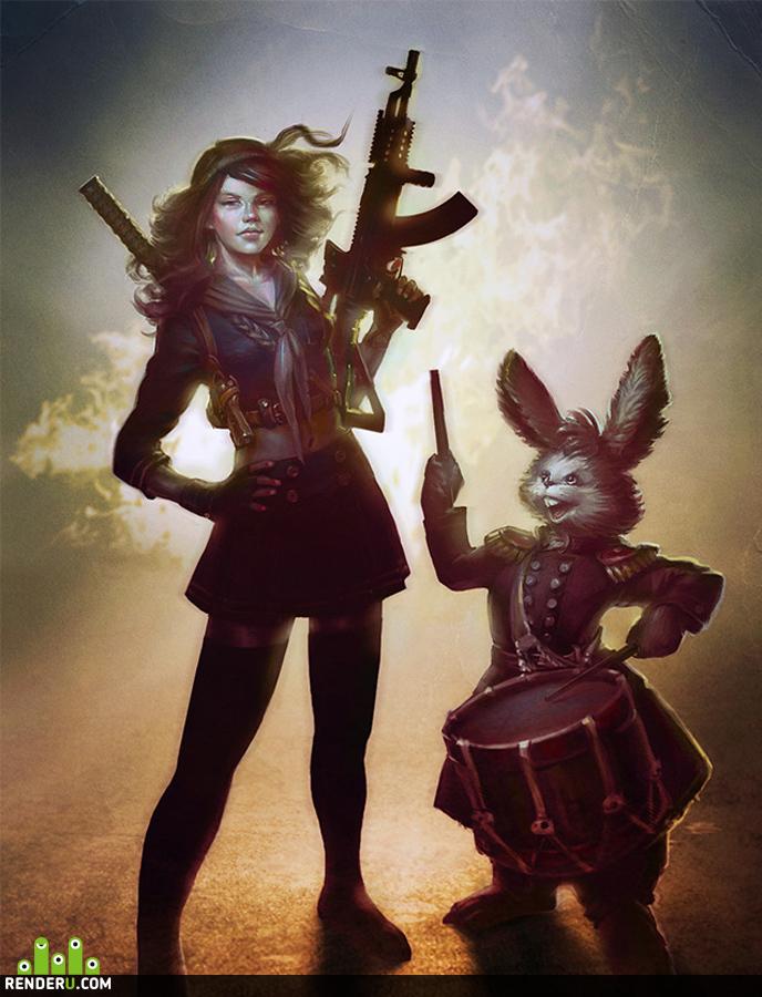 preview Белый кролик 2