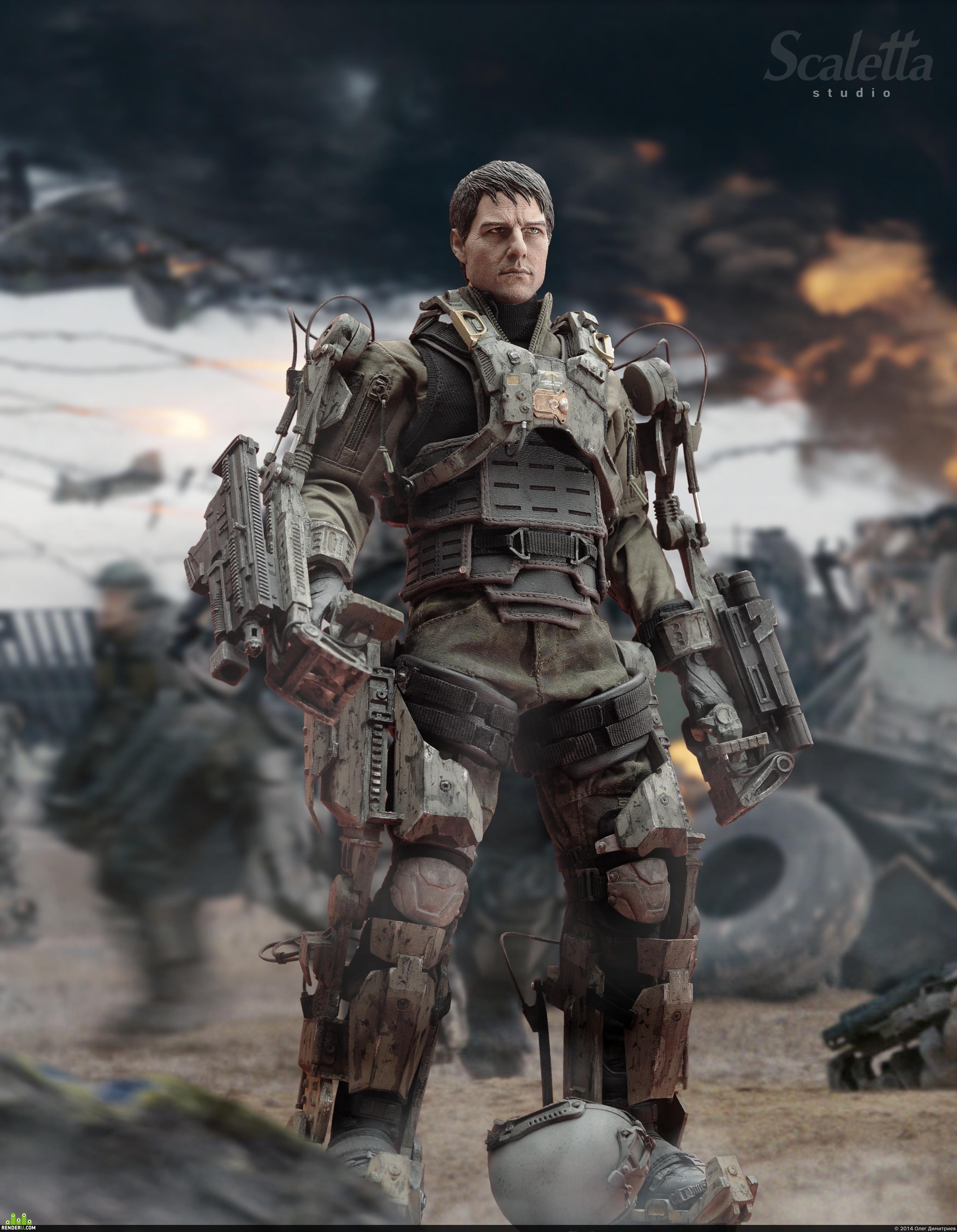 preview Tom Cruise exo sceleton