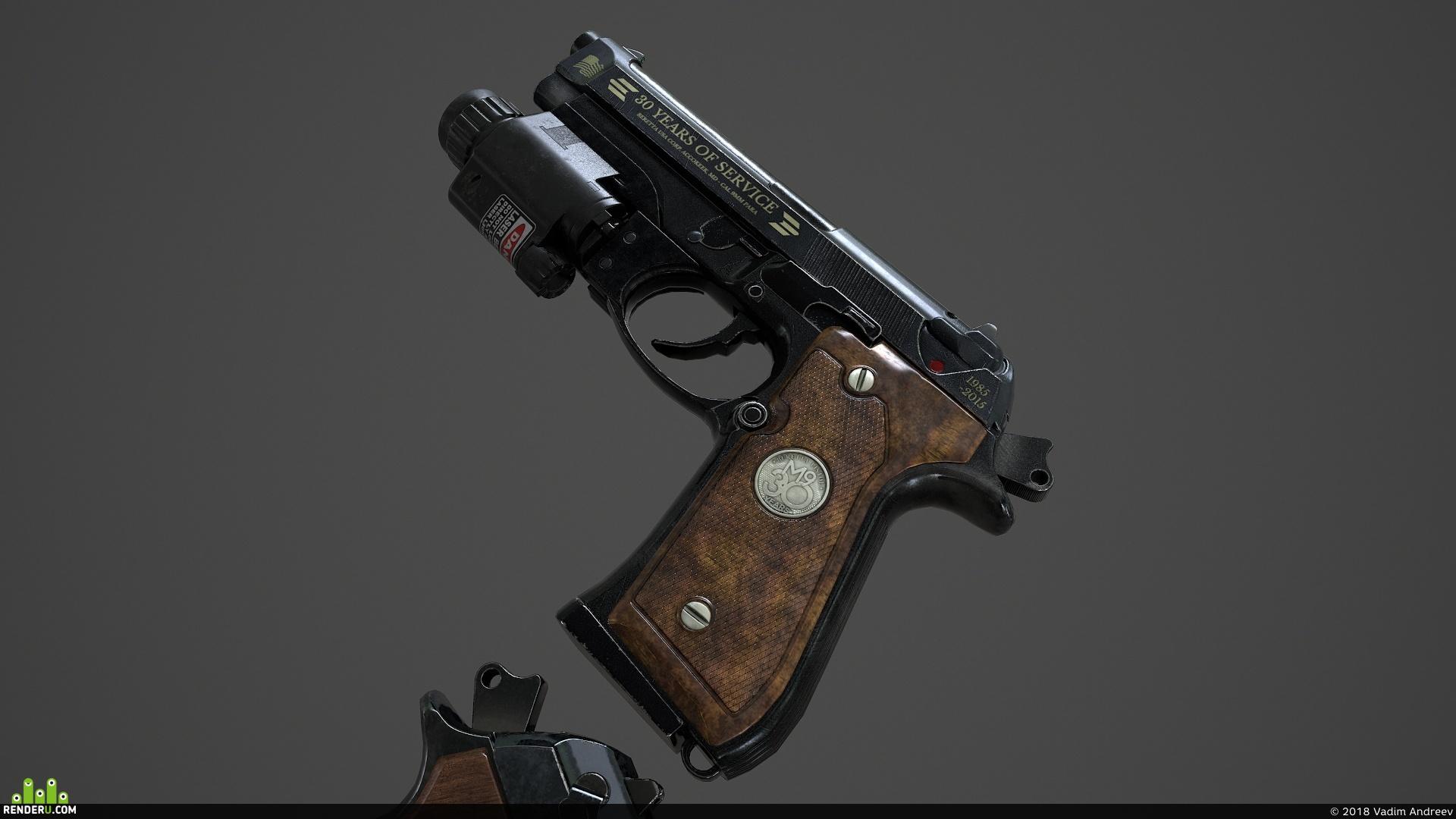 preview Beretta M9 Юбилейная