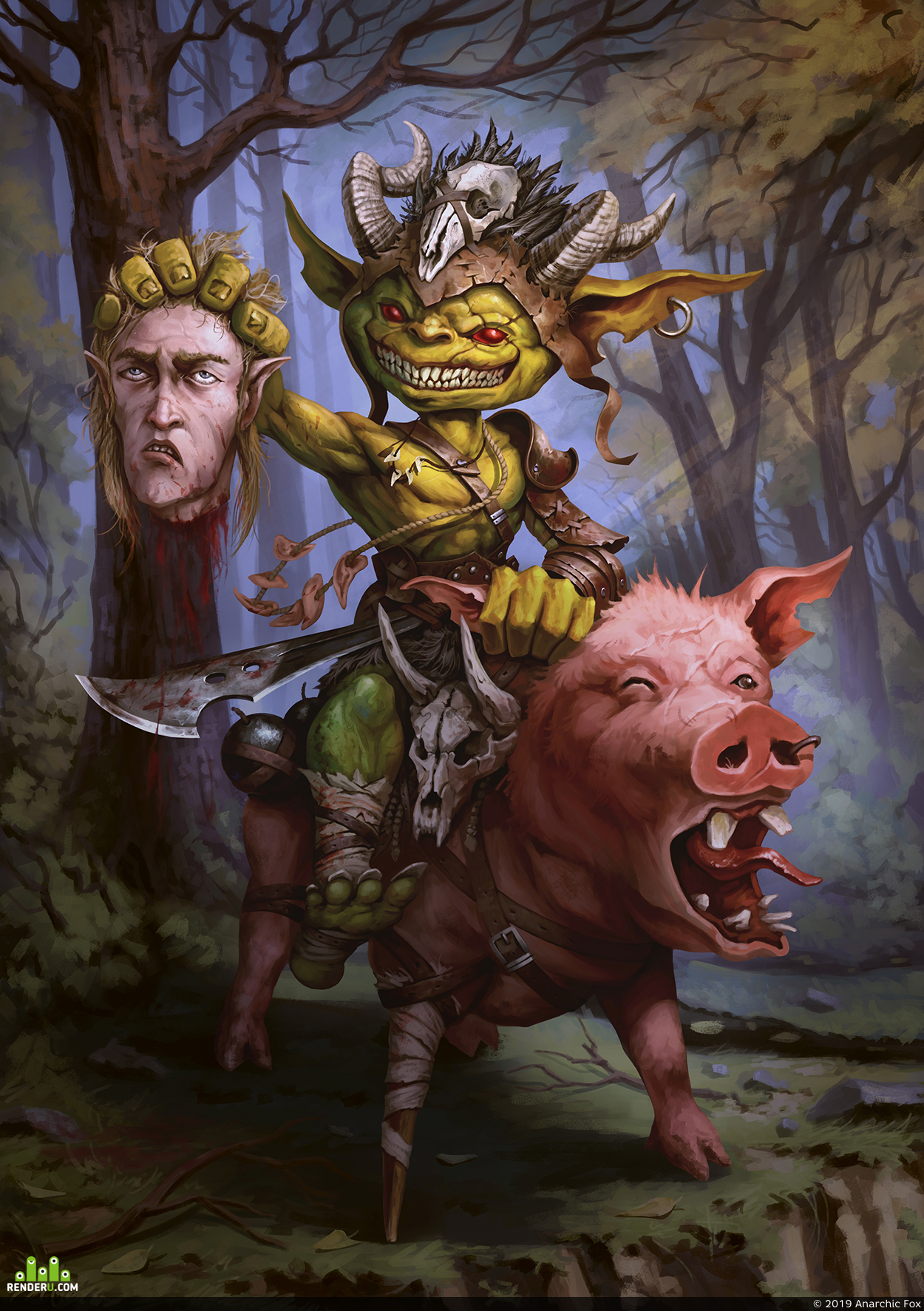 preview Pig Rider