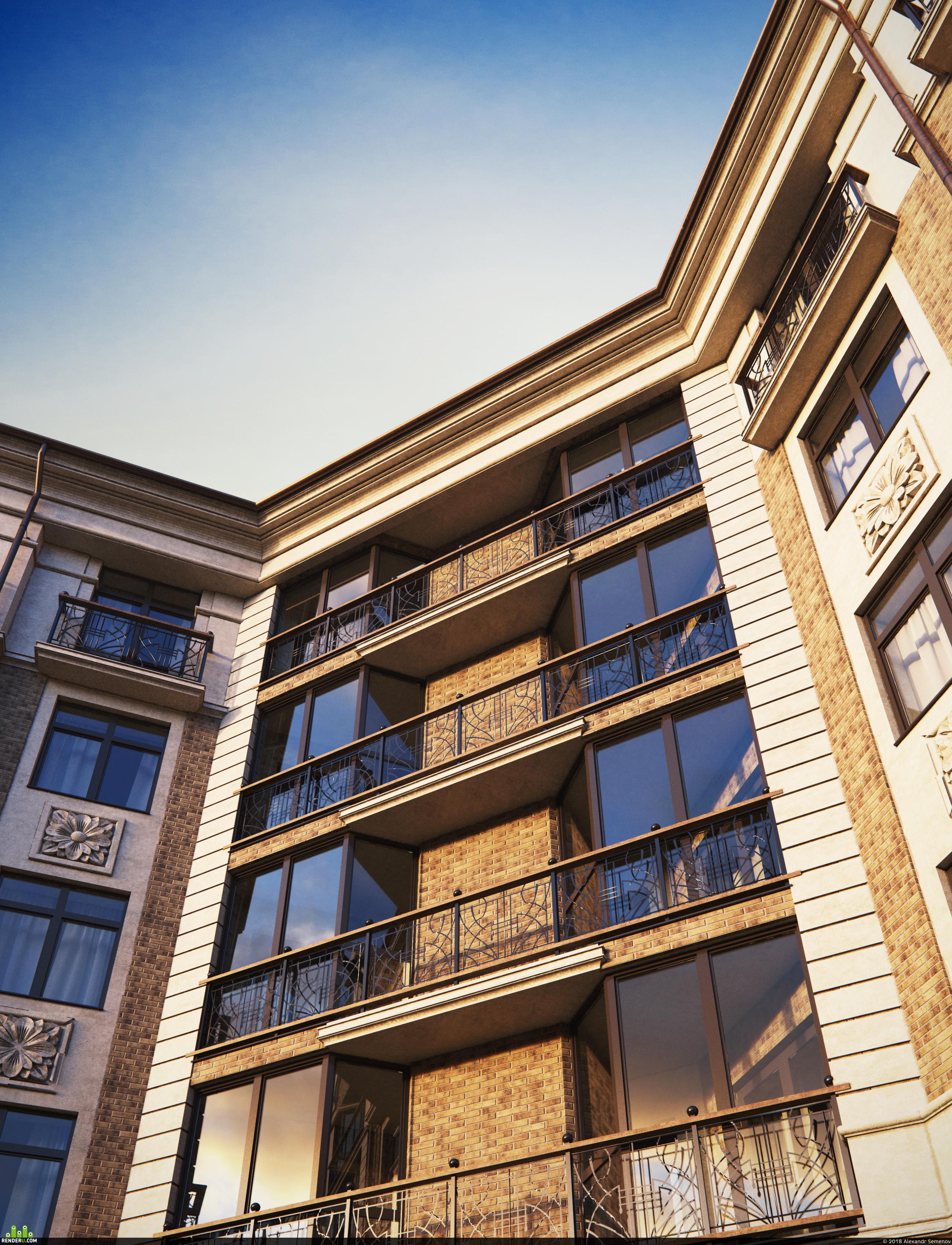 preview Визуализация жилых домов