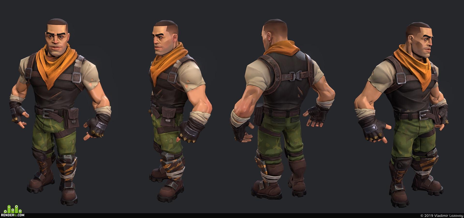 preview Солдат