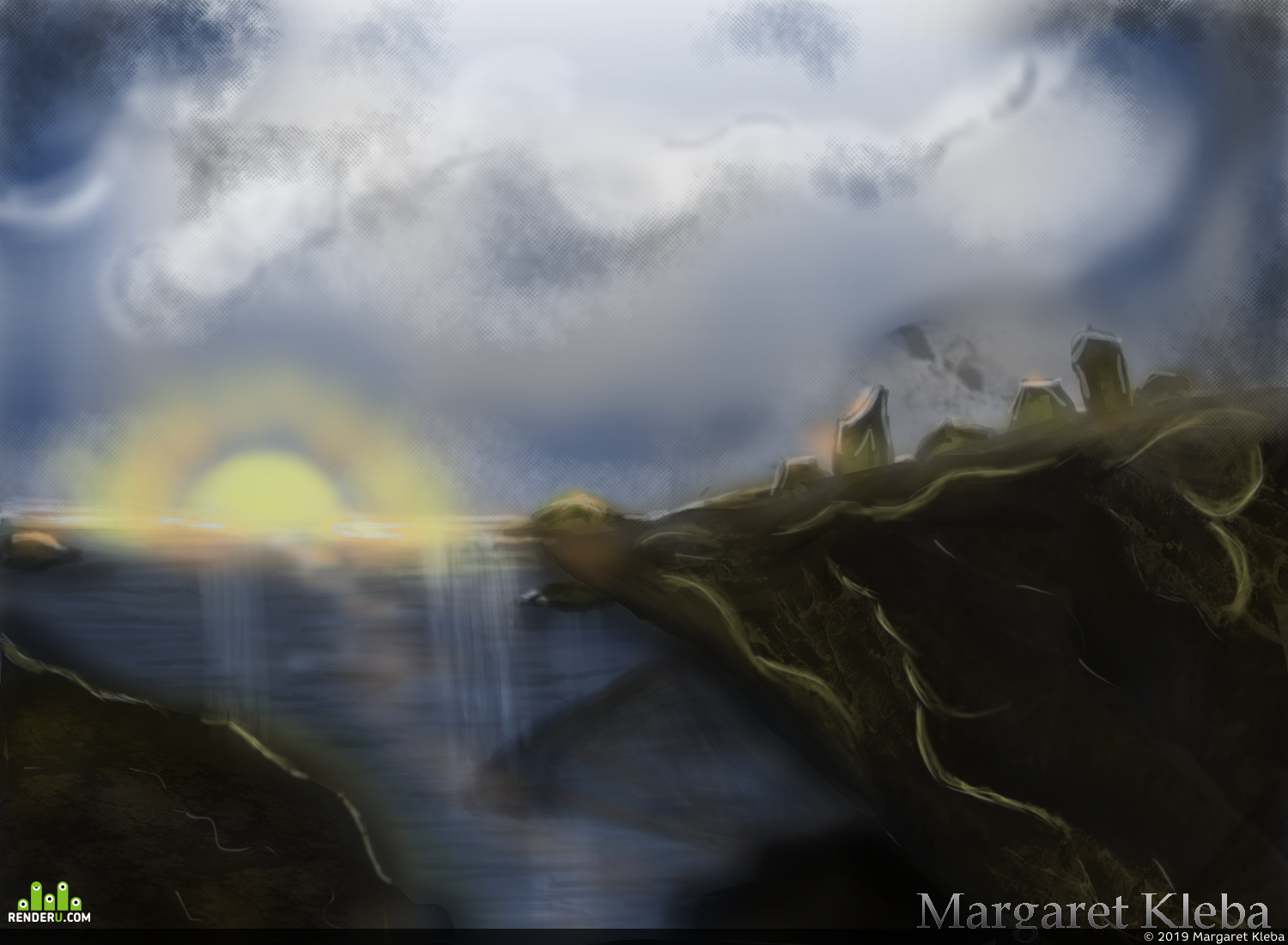 preview Sketch of Landscape