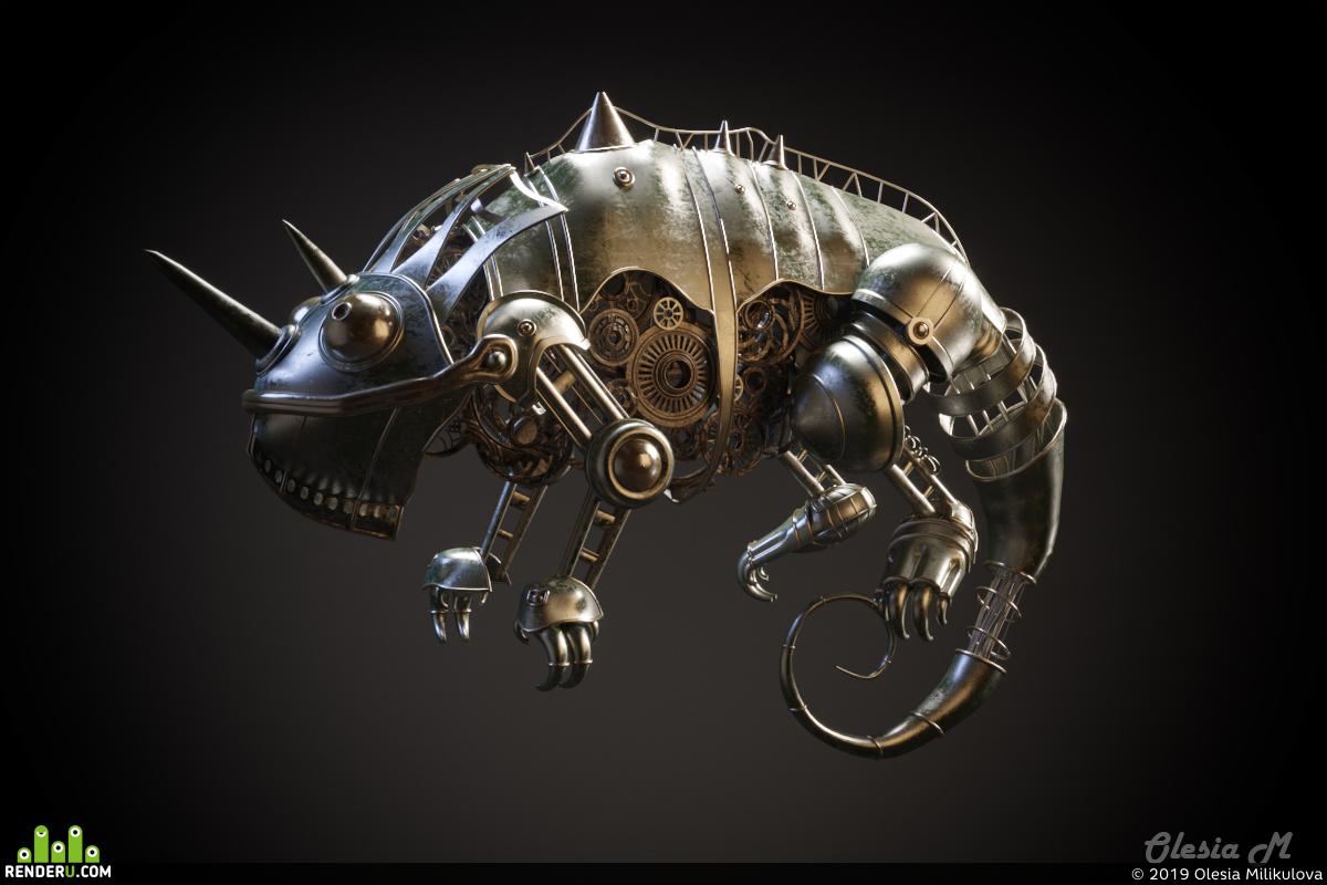 preview Chameleon Art