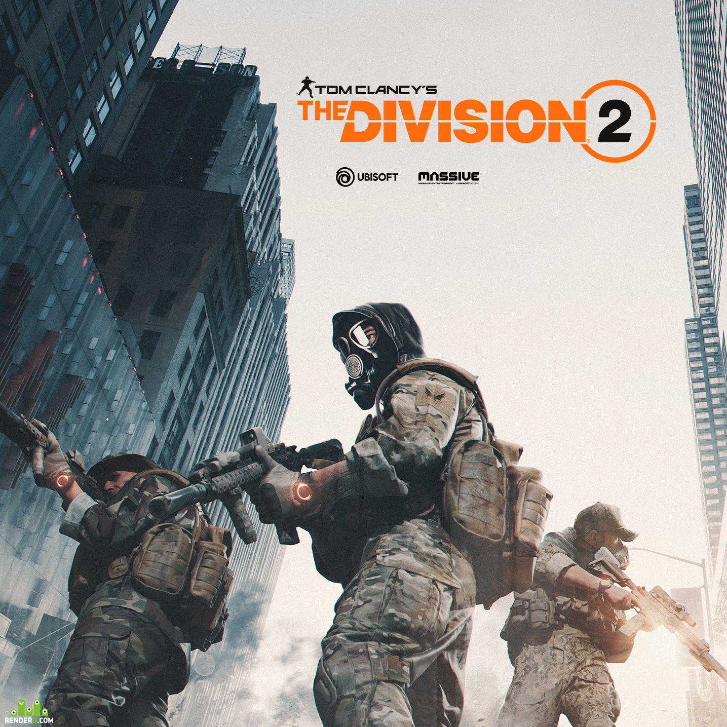 preview Арт для проекта Tom Clancy`s Division 2
