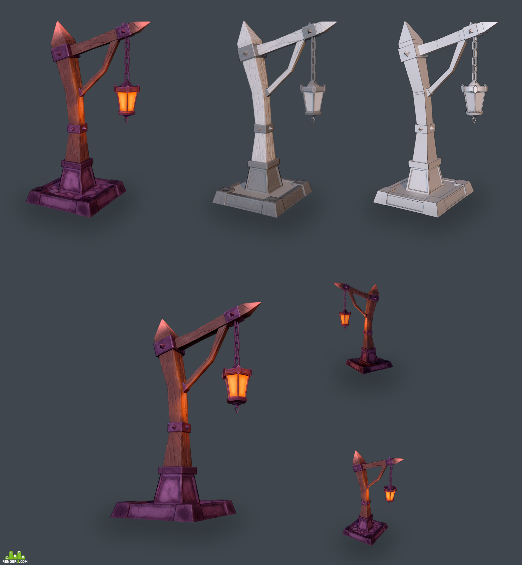 preview lAMP POST