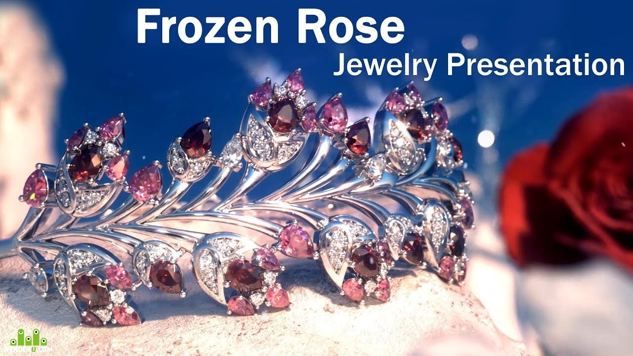 preview Frozen Rose