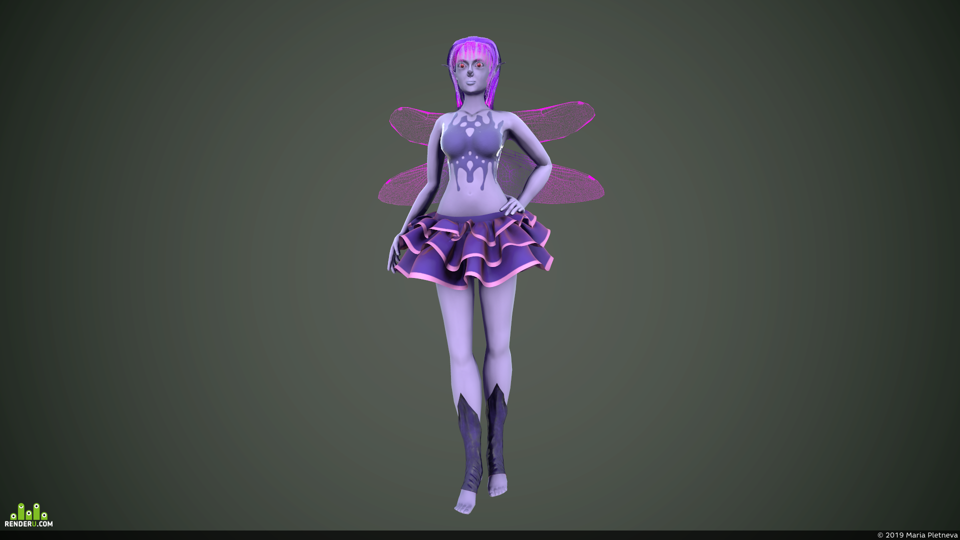 preview Темная фея